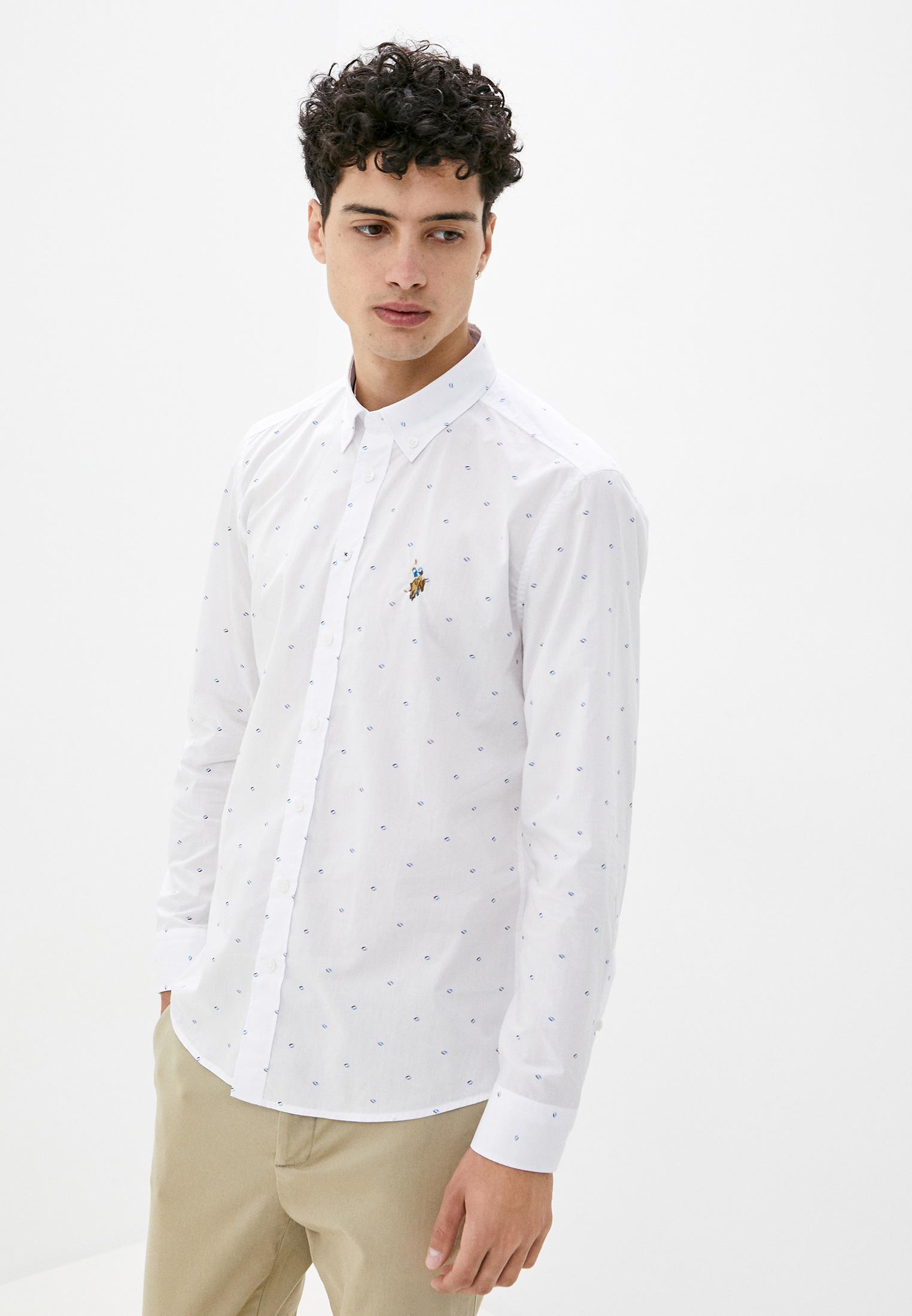Рубашка U.S. Polo Assn. за 2 749 ₽. в интернет-магазине Lamoda.ru