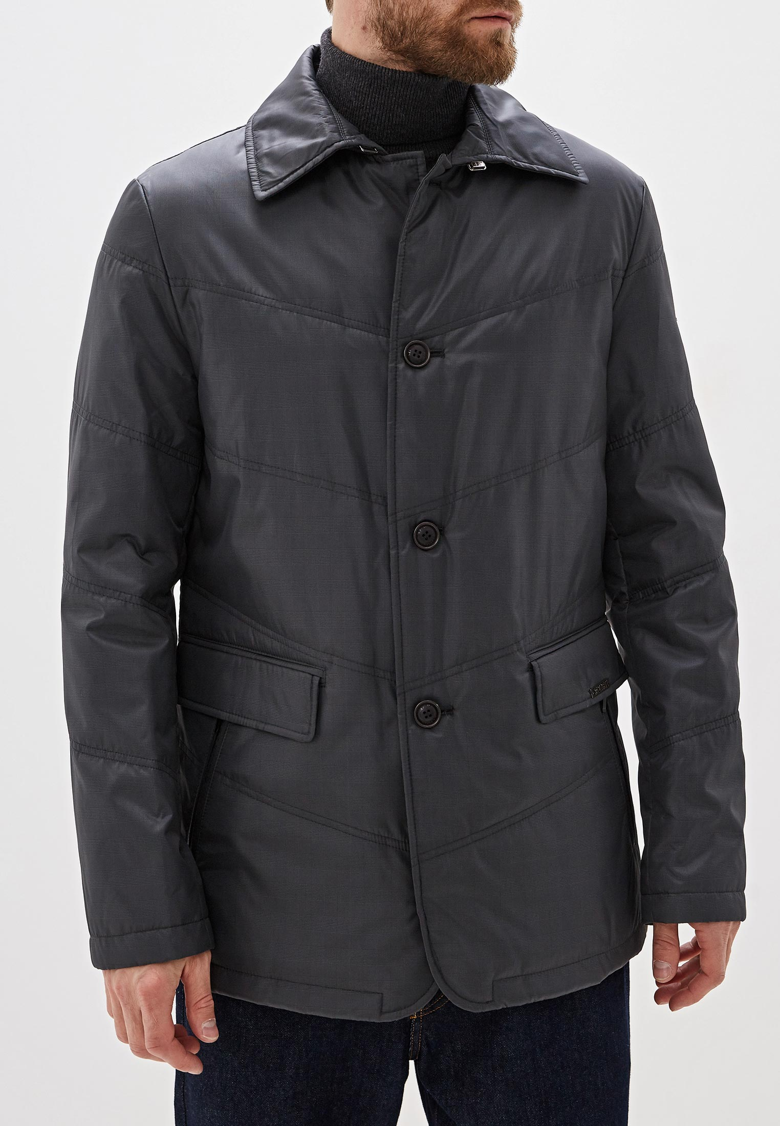 Куртка утепленная Bazioni за 10 990 ₽. в интернет-магазине Lamoda.ru