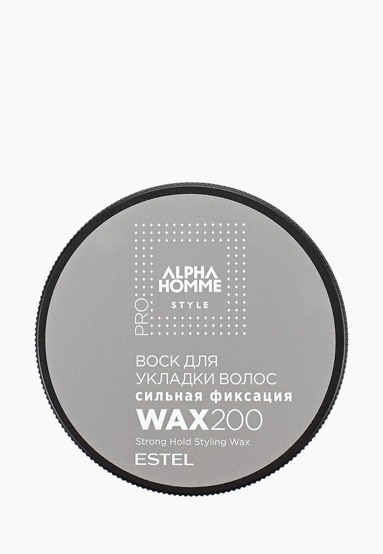 Estel Воск для волос ALPHA HOMME PRO STYLE сильной фиксации ESTEL PROFESSIONAL 200 мл