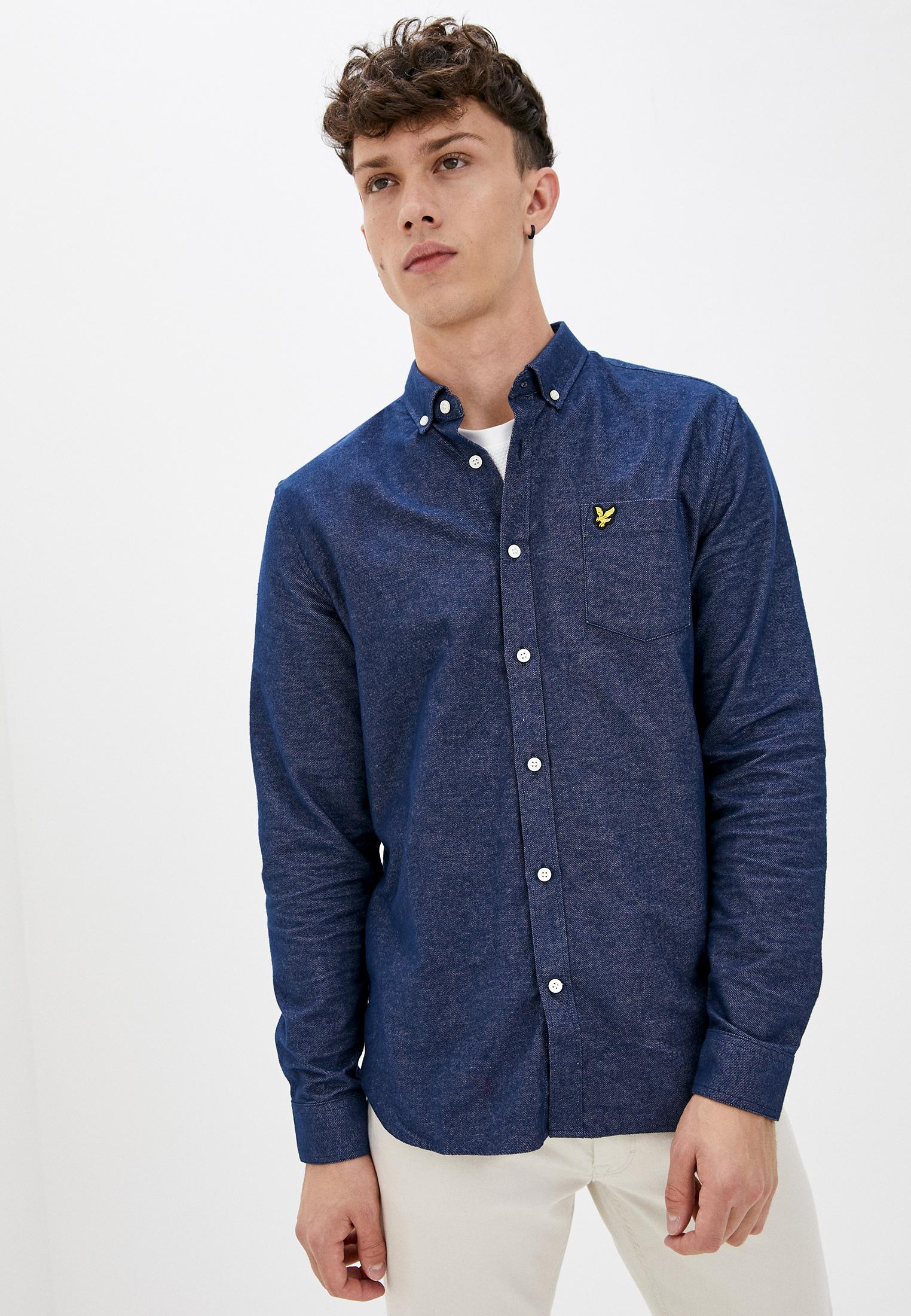 Рубашка джинсовая Lyle & Scott Mottled Shirt за 4 245 ₽. в интернет-магазине Lamoda.ru