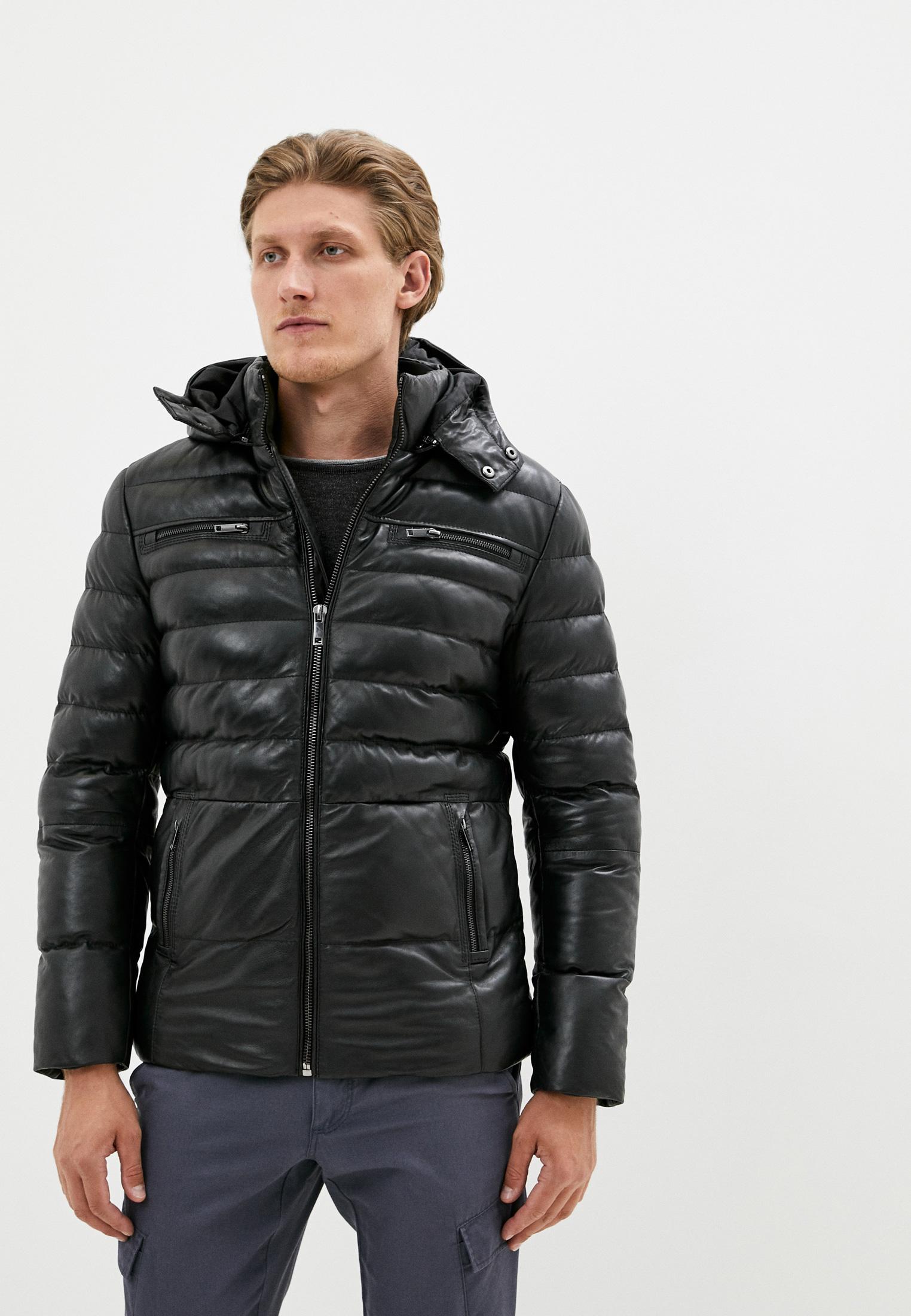 Куртка кожаная Jorg Weber за 17 841 ₽. в интернет-магазине Lamoda.ru