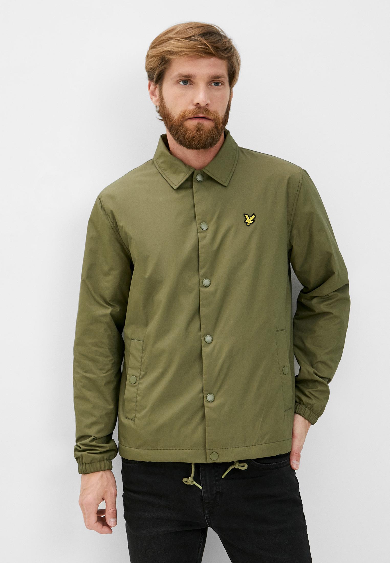 Куртка Lyle & Scott Coach Jacket за 8 040 ₽. в интернет-магазине Lamoda.ru