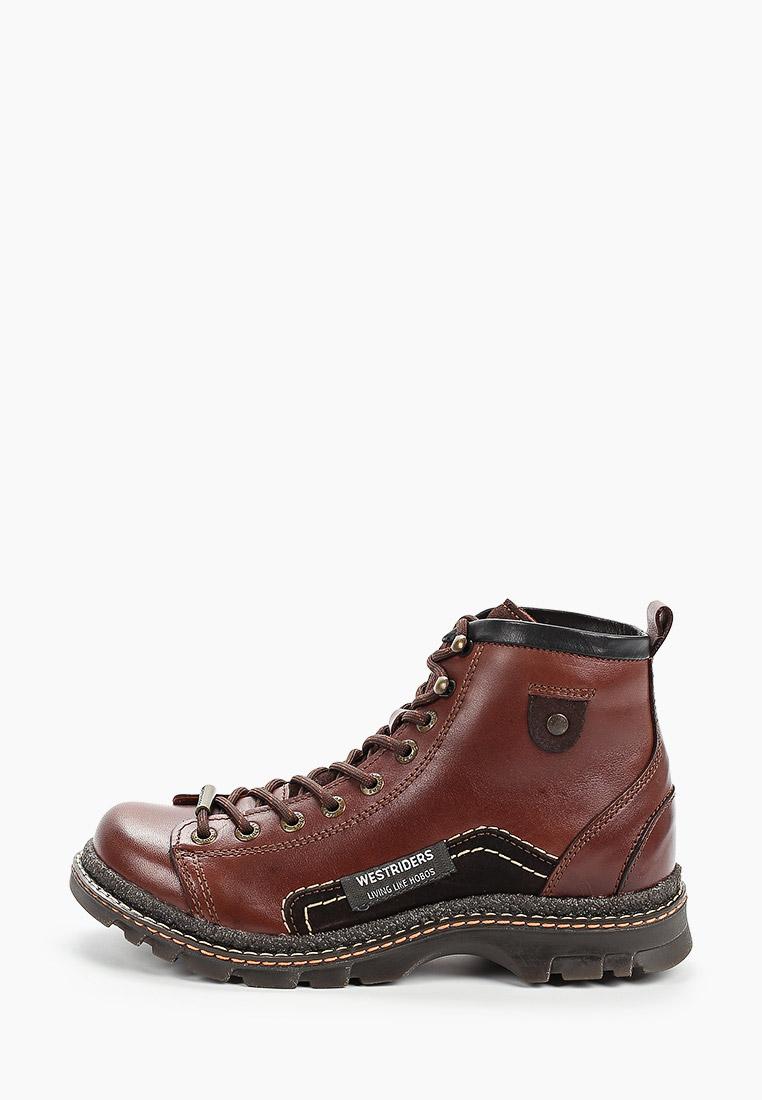 Ботинки Westriders купить за 10 540 ₽ в интернет-магазине Lamoda.ru