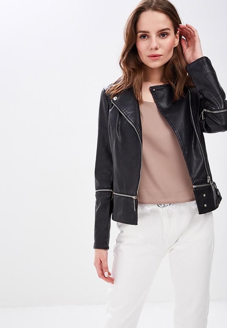 Куртка кожаная, Elardis, цвет: черный. Артикул: MP002XW01SRW. Одежда / Верхняя одежда / Косухи