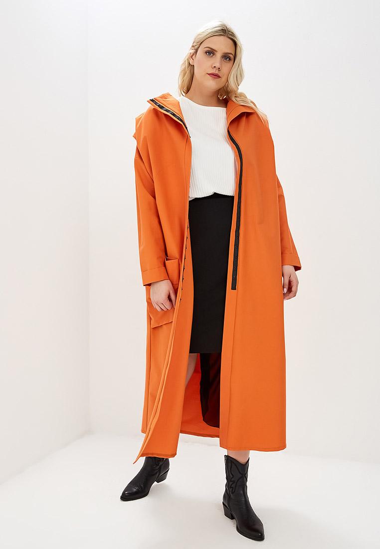 Плащ, Lovecode, цвет: оранжевый. Артикул: MP002XW0202D. Одежда