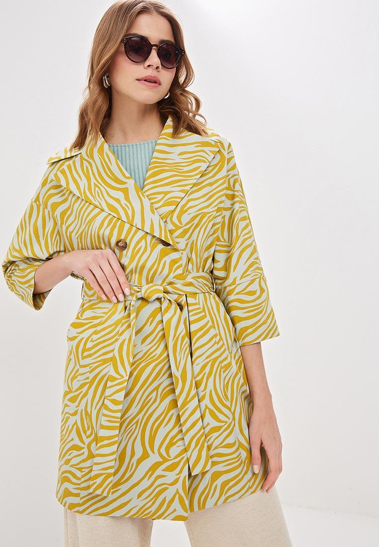 Плащ, Immagi, цвет: желтый. Артикул: MP002XW02045. Одежда