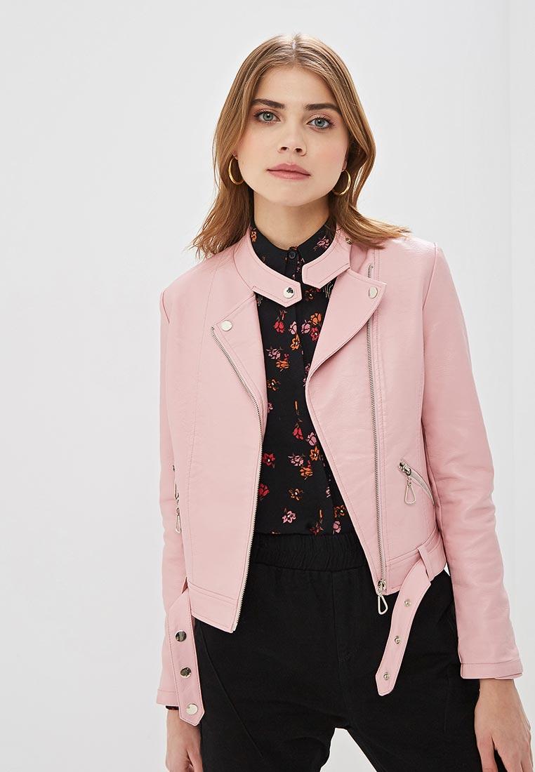Куртка кожаная, Elardis, цвет: розовый. Артикул: MP002XW020LV. Одежда / Верхняя одежда / Косухи