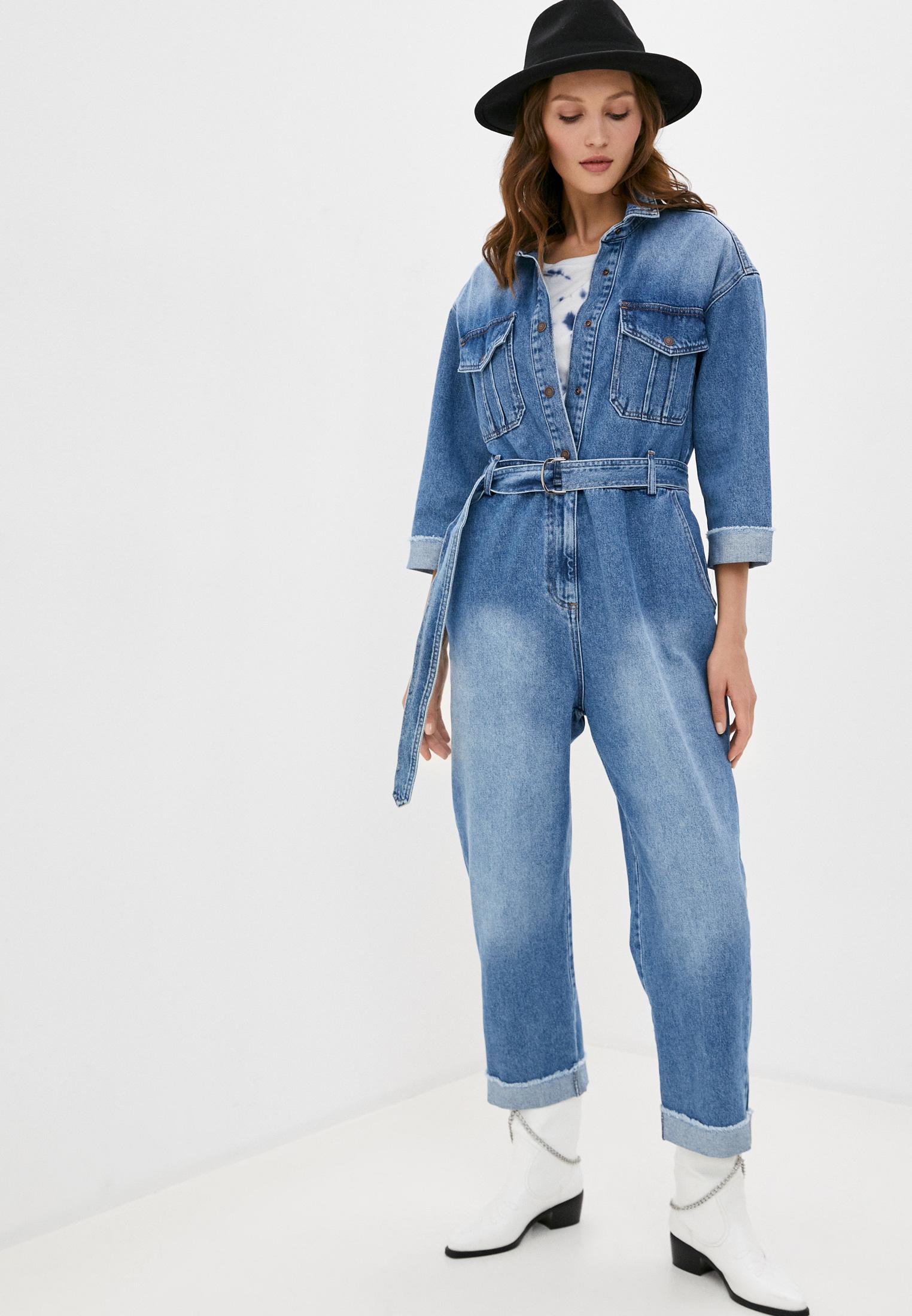 Комбинезон джинсовый Whitney за 6 374 ₽. в интернет-магазине Lamoda.ru