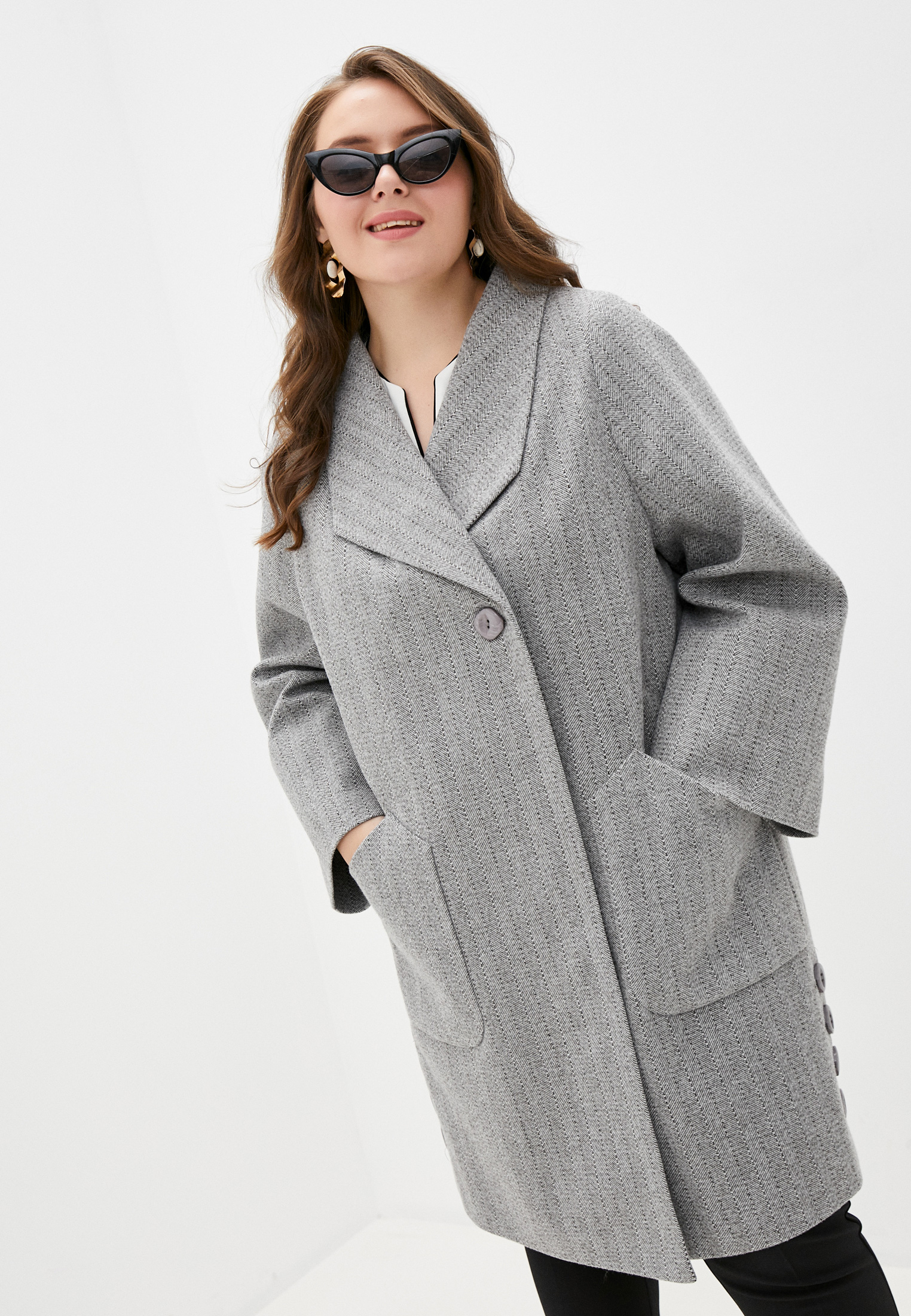 Пальто Abrigo Collection ALLADW за 12 100 ₽. в интернет-магазине Lamoda.ru