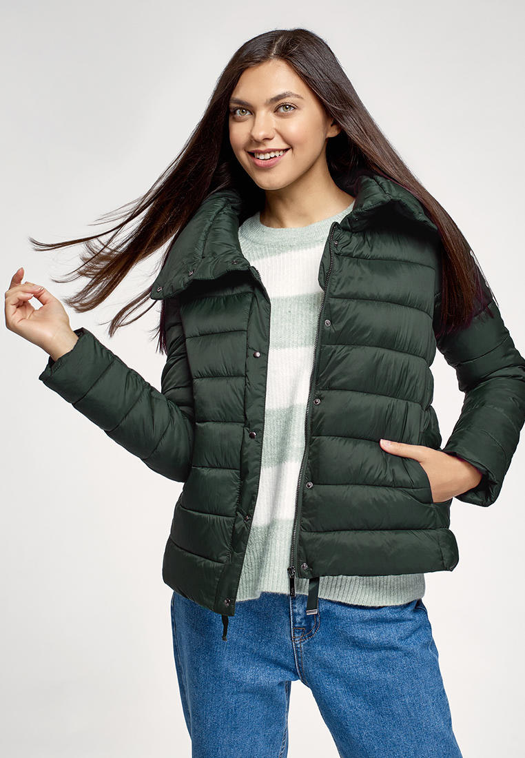 Куртка утепленная oodji за 2 399 ₽. в интернет-магазине Lamoda.ru