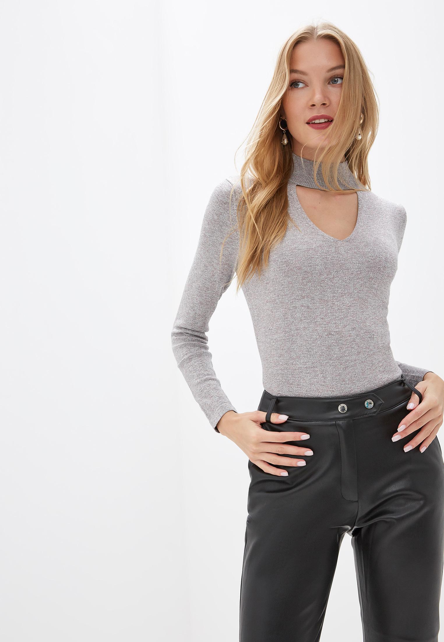 Джемпер, Love Republic, цвет: серый. Артикул: MP002XW0DFE2. Одежда / Джемперы, свитеры и кардиганы