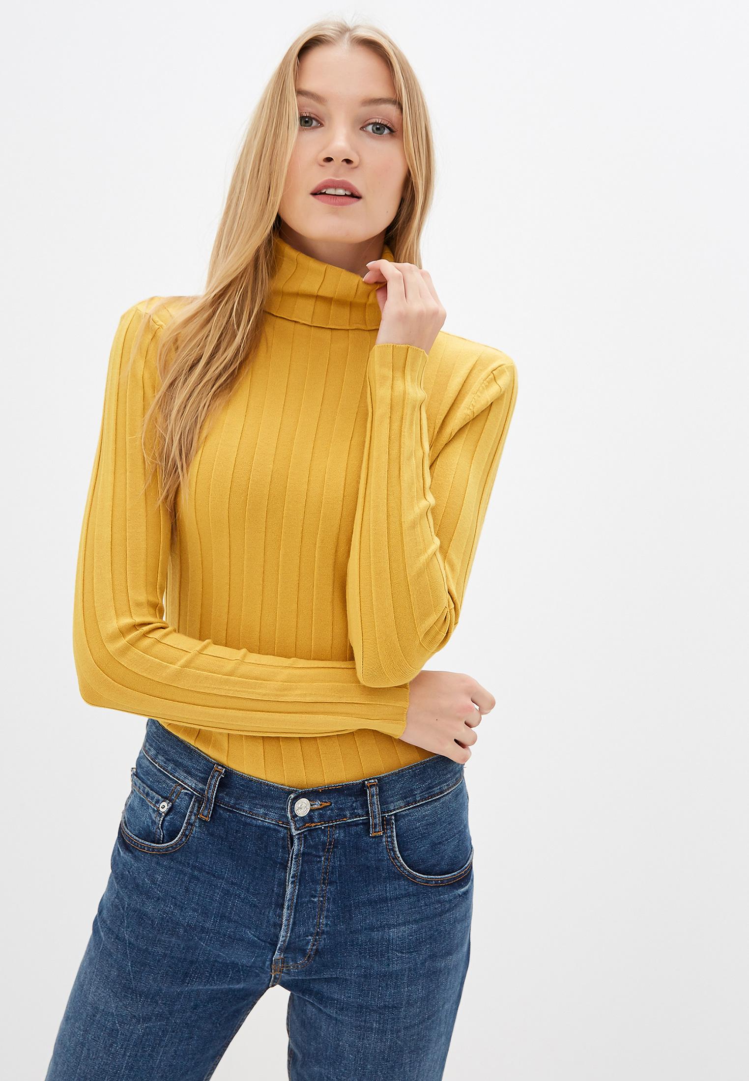 Водолазка, Vittoria Vicci, цвет: желтый. Артикул: MP002XW0EO0T. Одежда / Джемперы, свитеры и кардиганы