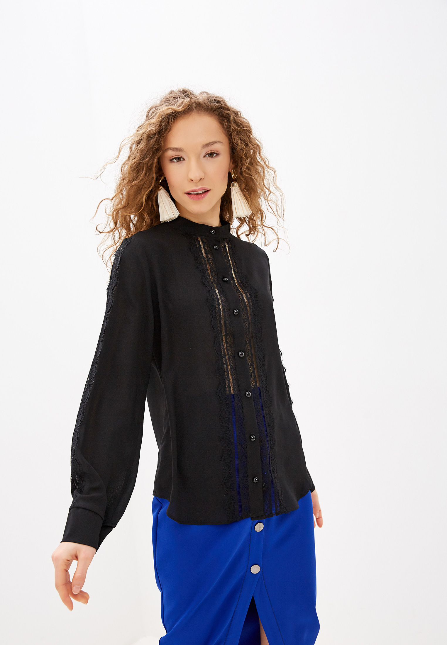 Блуза Lezzarine купить за 5 120 ₽ в интернет-магазине Lamoda.ru