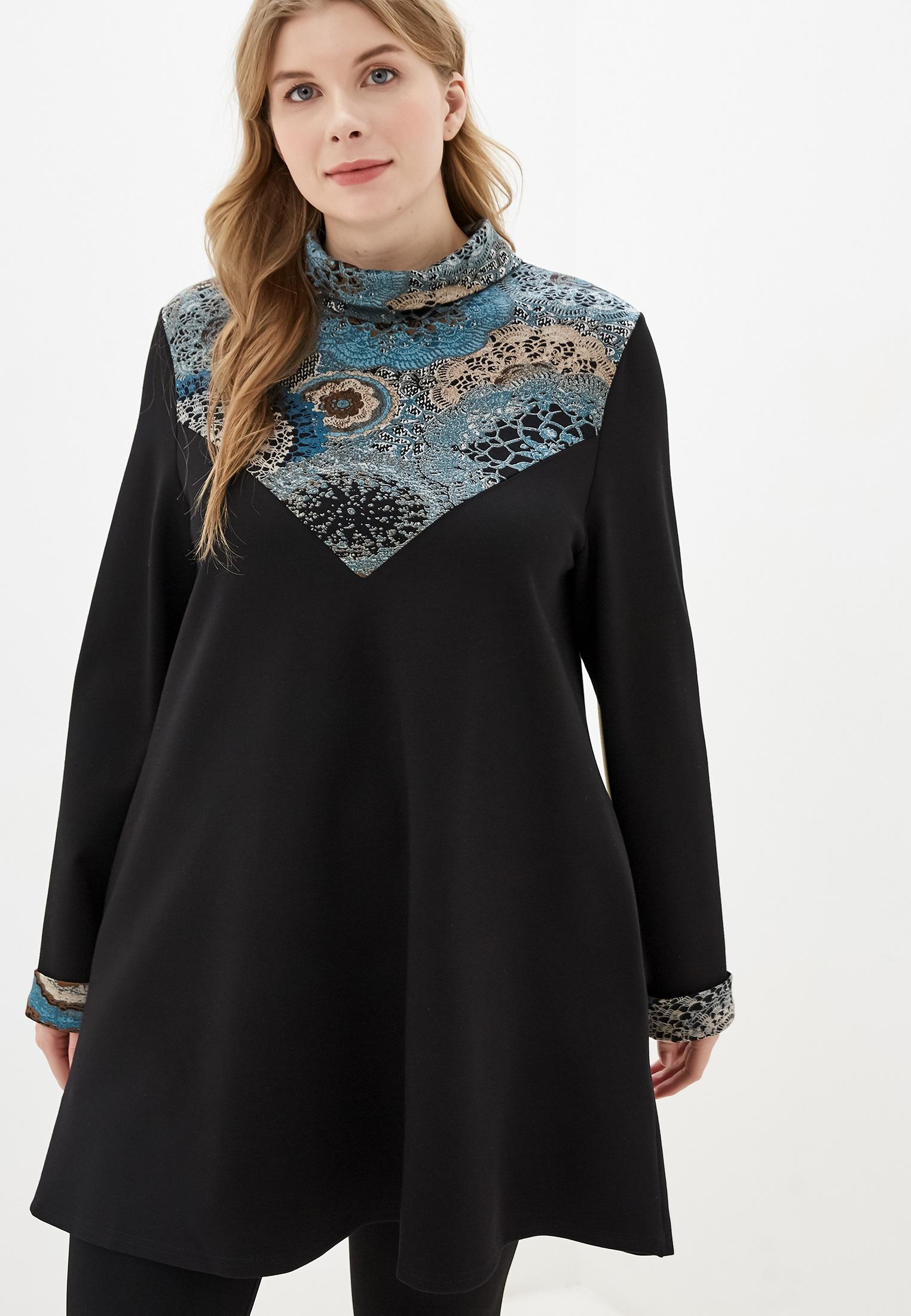 Туника Авантюра Plus Size Fashion за 2 720 ₽. в интернет-магазине Lamoda.ru