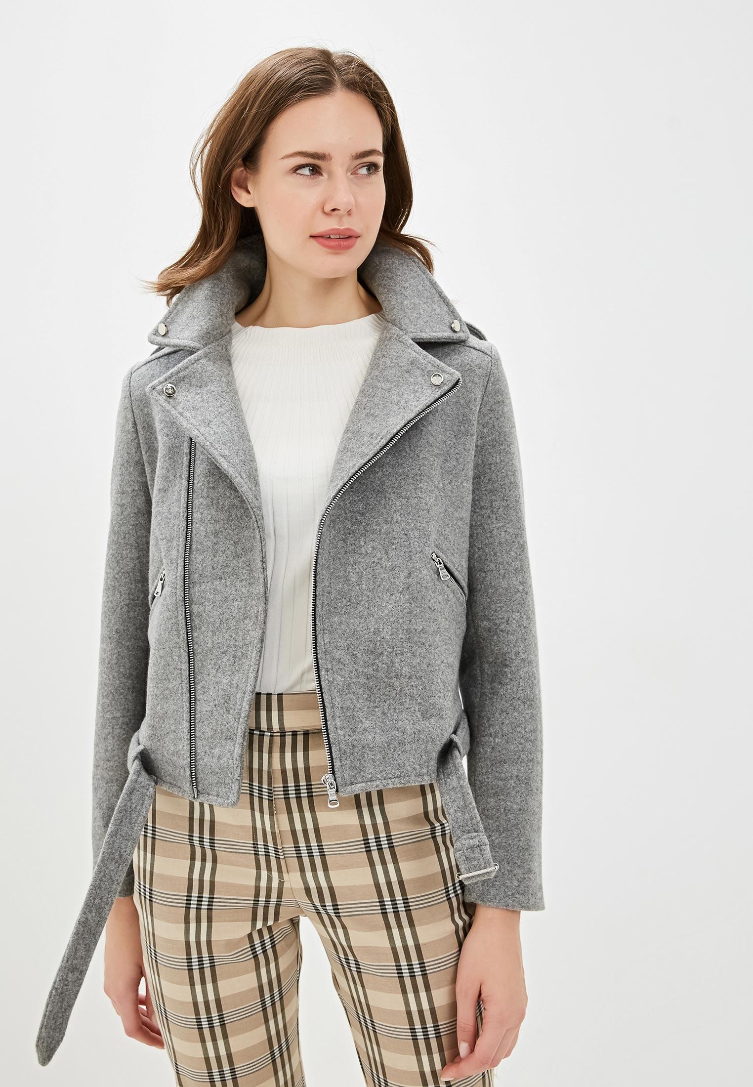 Куртка, Gold Chic Chili, цвет: серый. Артикул: MP002XW0IB4M. Одежда / Верхняя одежда / Косухи
