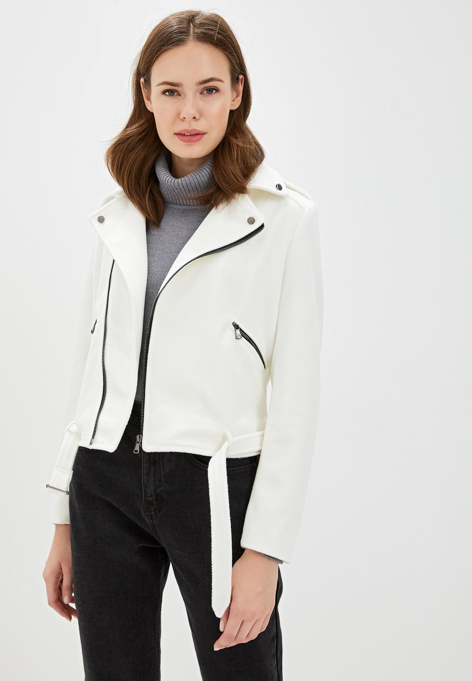 Куртка, Gold Chic Chili, цвет: белый. Артикул: MP002XW0IB4O. Одежда / Верхняя одежда / Косухи