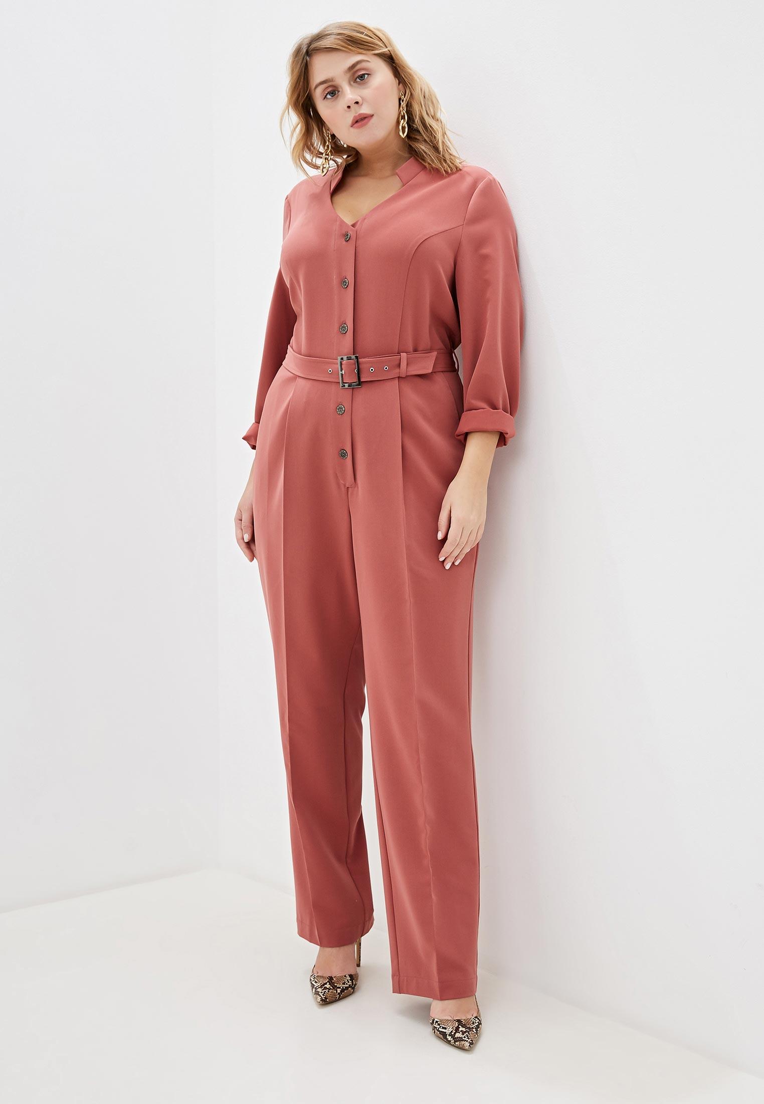Комбинезон Авантюра Plus Size Fashion за 5 201 ₽. в интернет-магазине Lamoda.ru