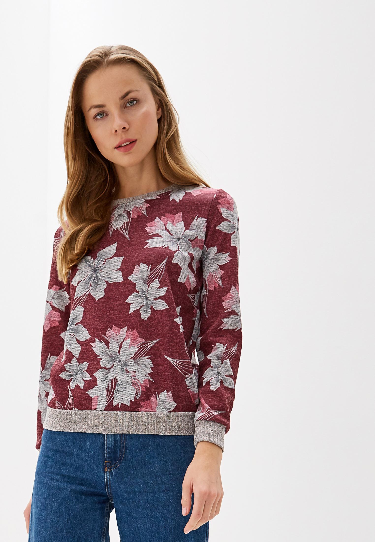 Джемпер, Kontaly, цвет: бордовый. Артикул: MP002XW0QDAV. Одежда / Джемперы, свитеры и кардиганы