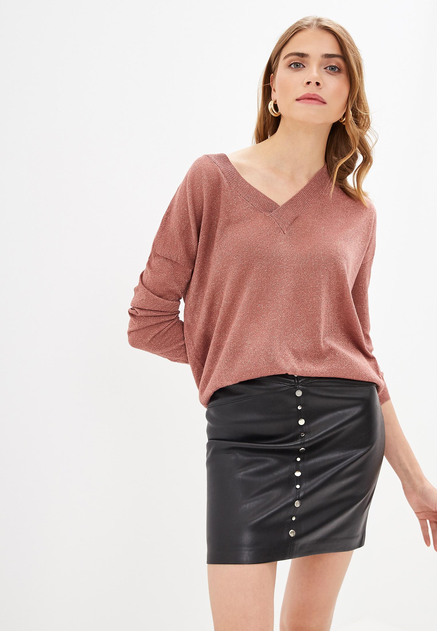 Пуловер, Love Republic, цвет: бежевый. Артикул: MP002XW0RBLL. Одежда / Джемперы, свитеры и кардиганы