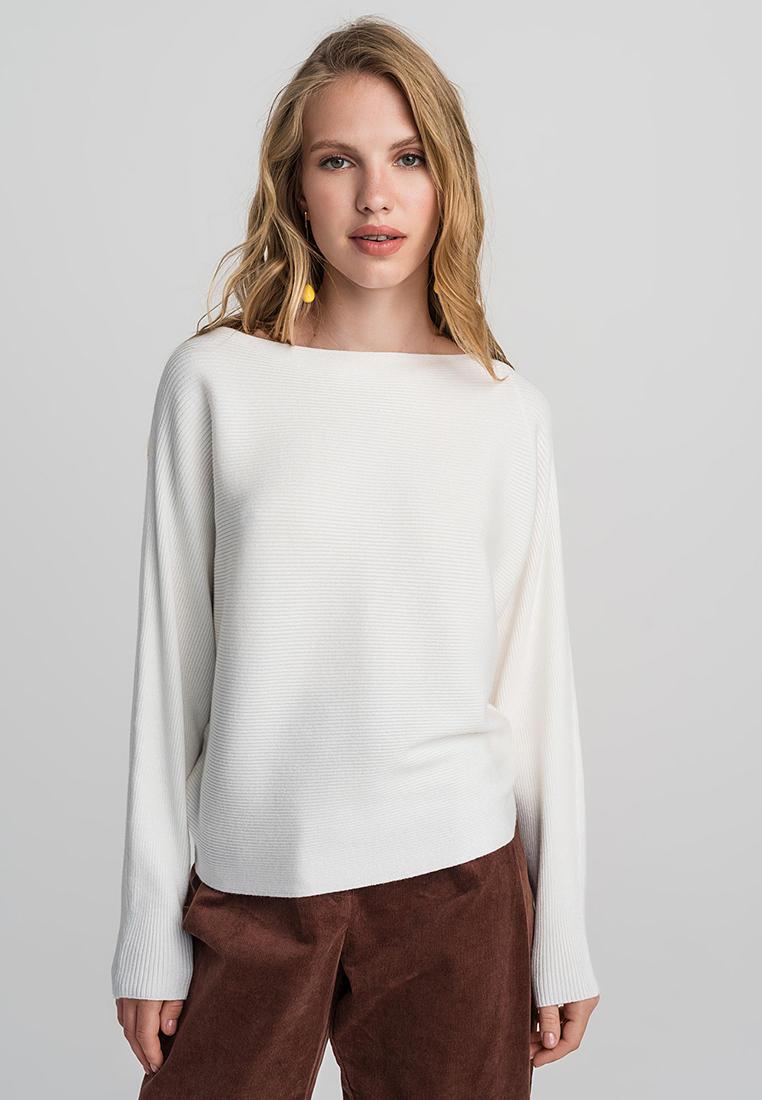Джемпер, Befree, цвет: белый. Артикул: MP002XW0RF6I. Одежда / Джемперы, свитеры и кардиганы