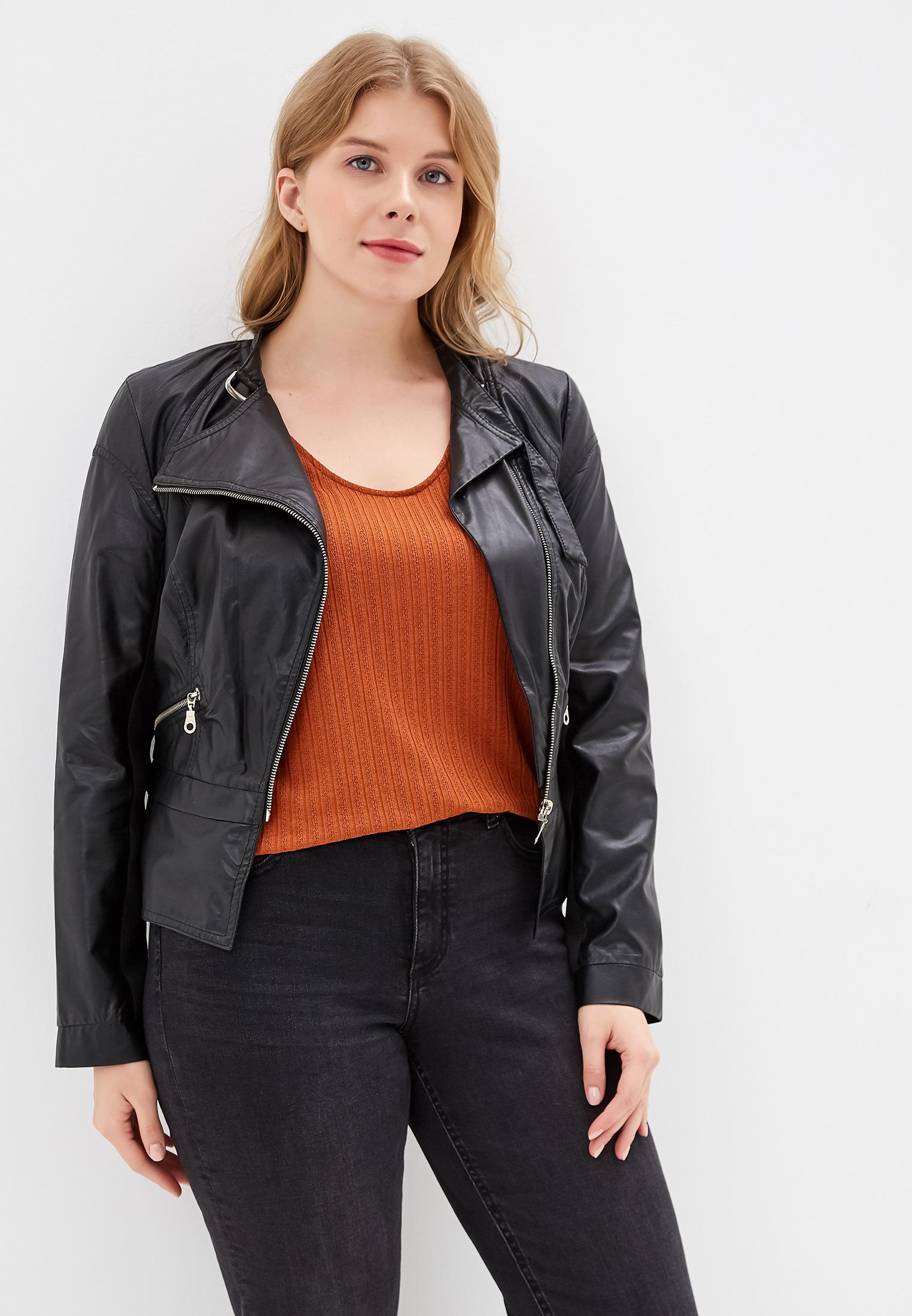 Куртка кожаная, Beatris, цвет: черный. Артикул: MP002XW0RFU7. Одежда / Верхняя одежда / Косухи