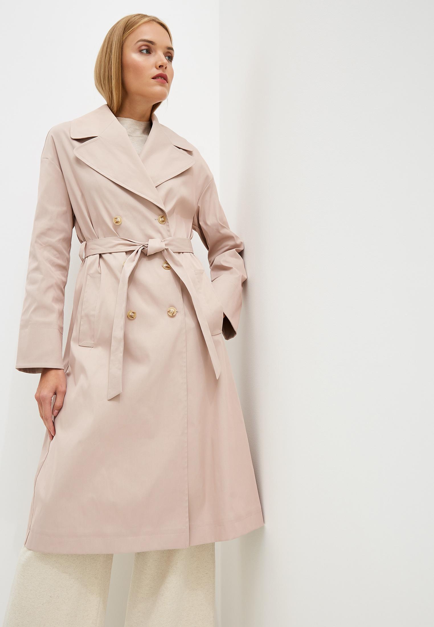 Плащ, Aylin Stories, цвет: розовый. Артикул: MP002XW0RI3Y. Одежда