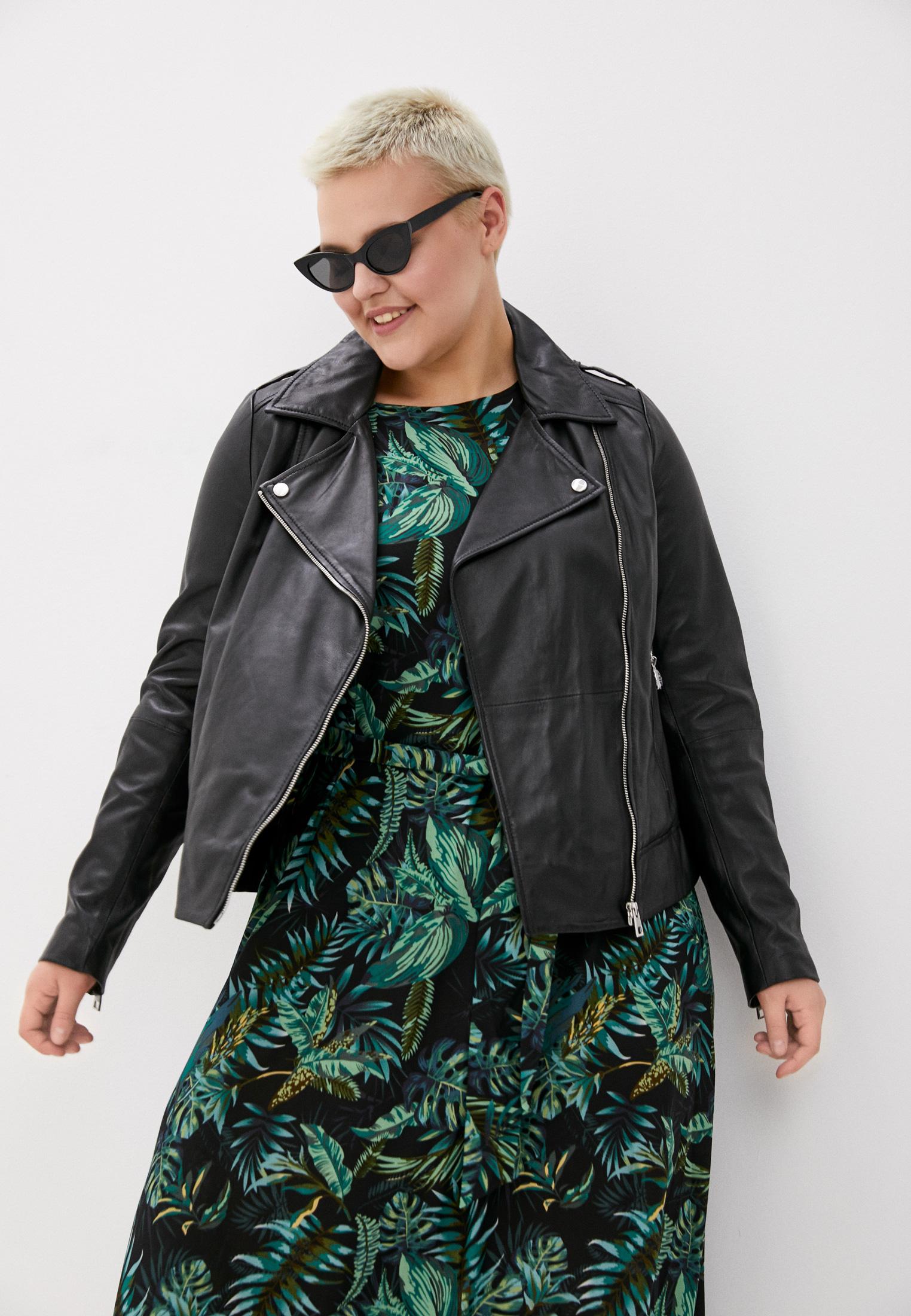 Куртка кожаная Снежная Королева купить за в интернет-магазине Lamoda.ru