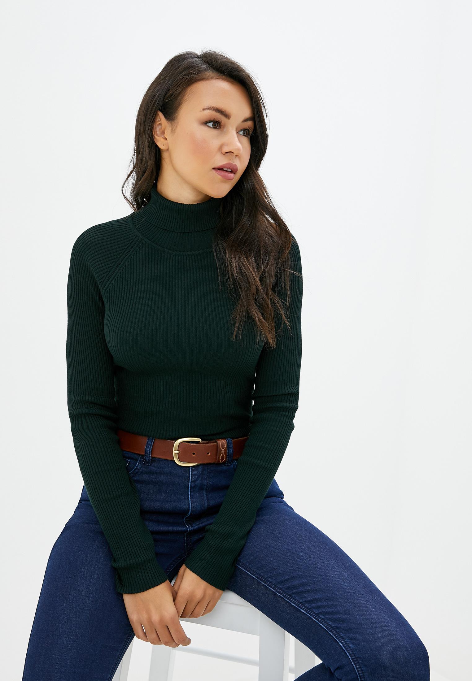 Водолазка, Befree, цвет: зеленый. Артикул: MP002XW11XBH. Одежда / Джемперы, свитеры и кардиганы