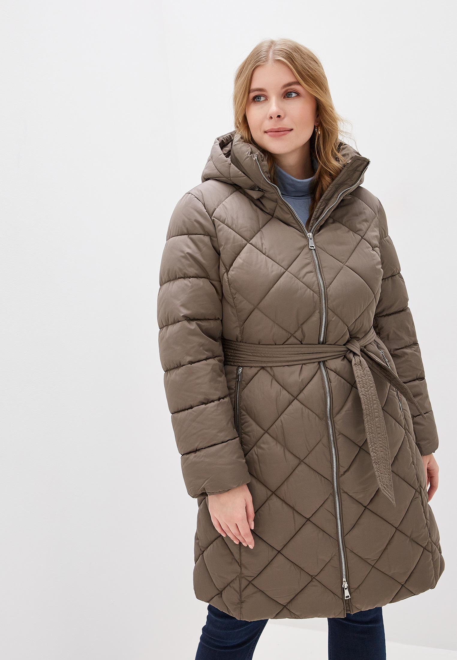 Куртка утепленная, Zarina, цвет: хаки. Артикул: MP002XW11XFO. Одежда / Верхняя одежда
