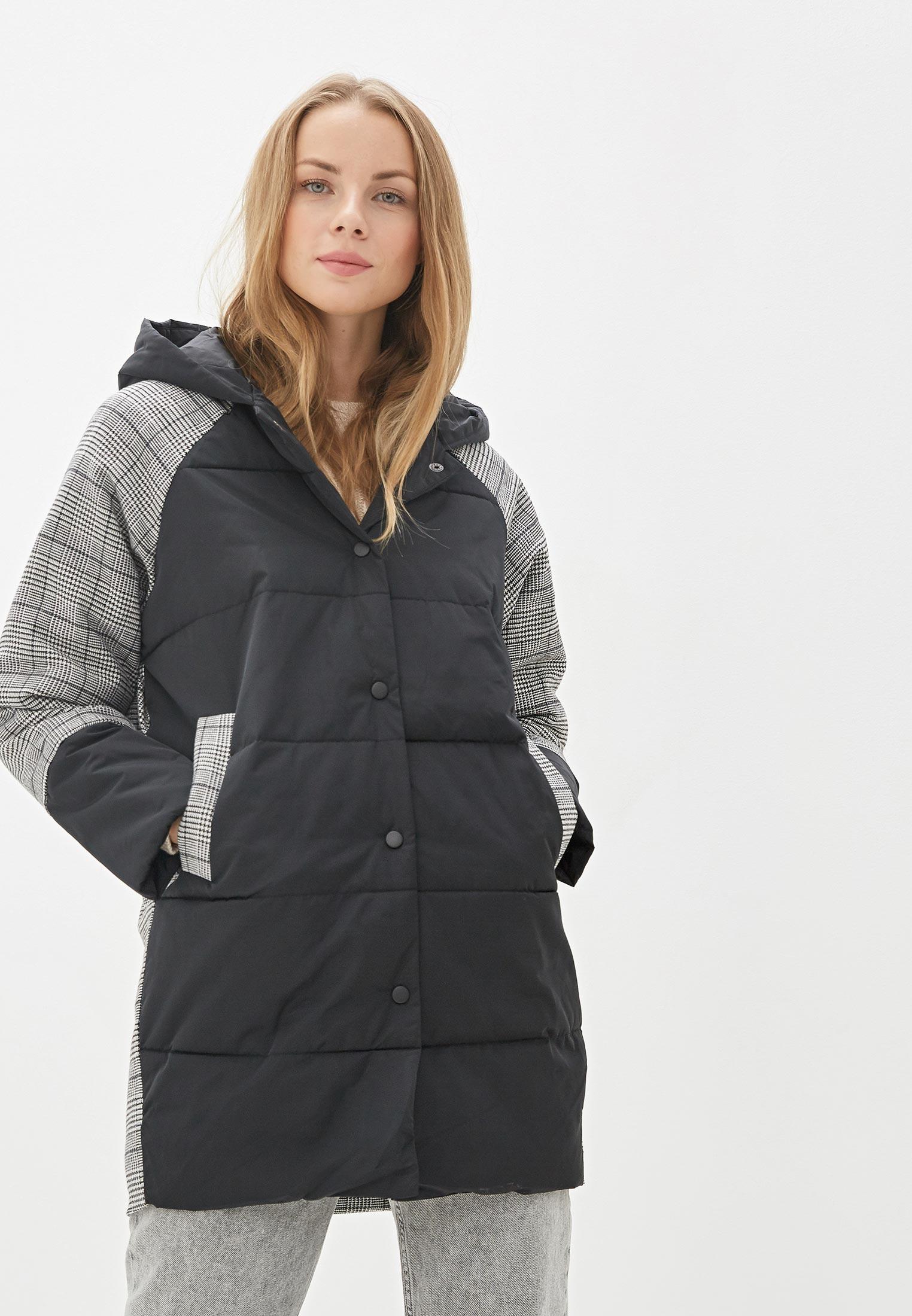 Куртка утепленная, Keddo, цвет: серый, черный. Артикул: MP002XW11Y0U. Одежда / Верхняя одежда