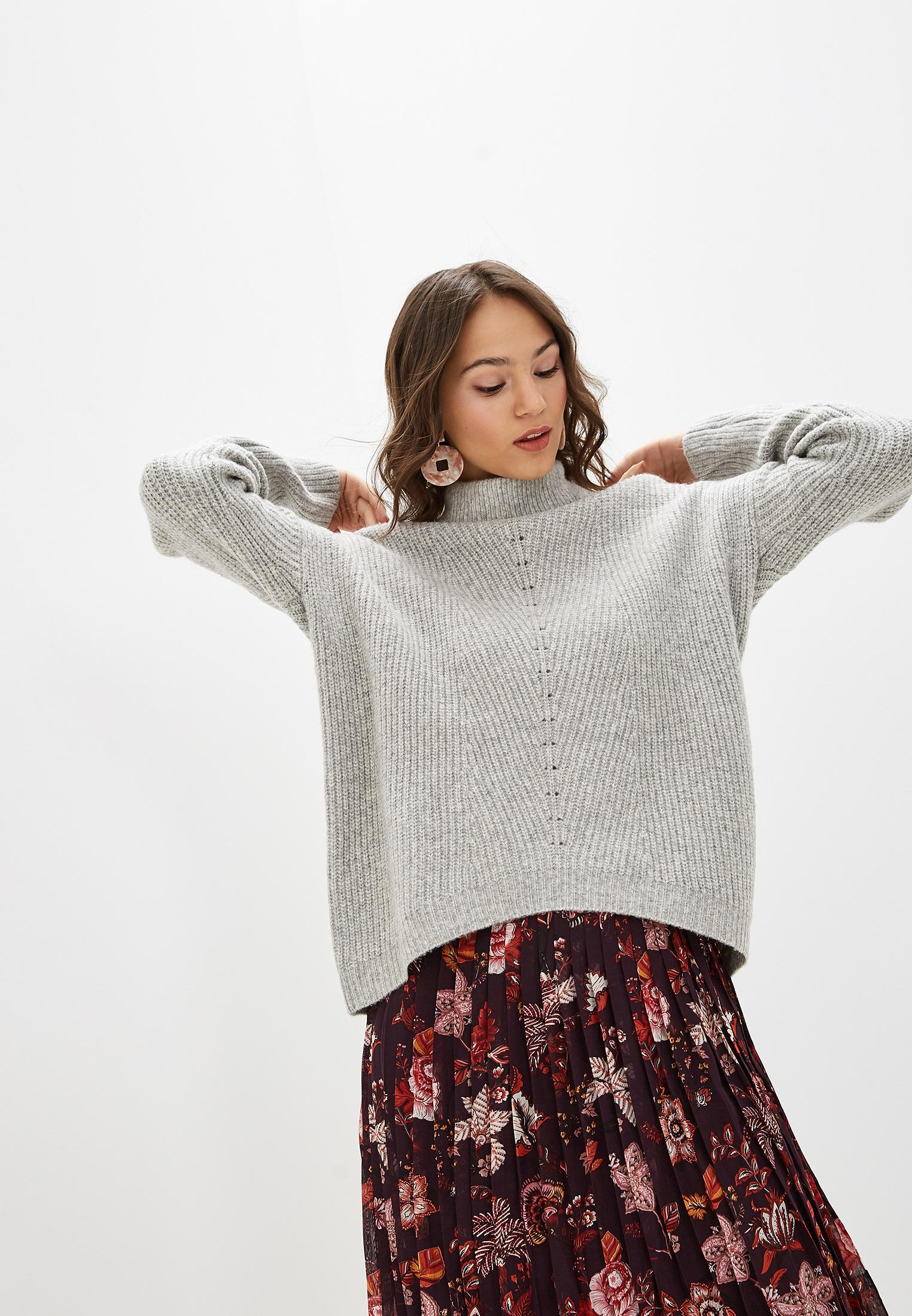 Свитер, Zarina, цвет: серый. Артикул: MP002XW120R0. Одежда / Джемперы, свитеры и кардиганы