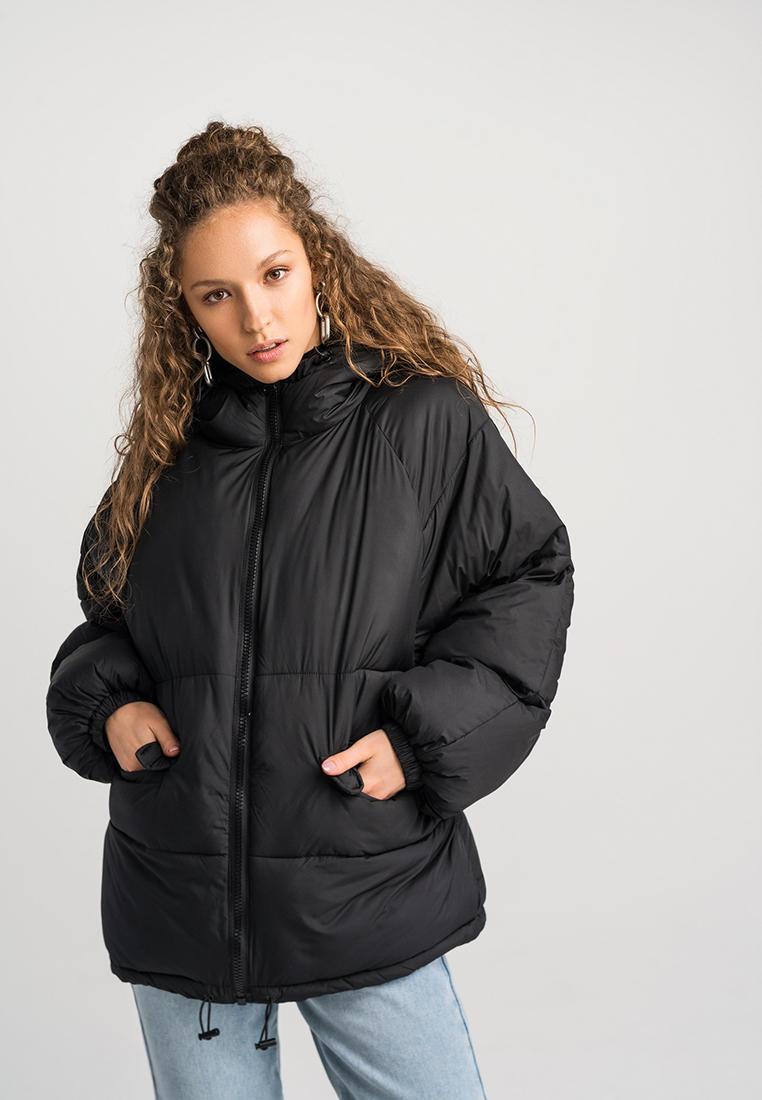Куртка утепленная, Befree, цвет: черный. Артикул: MP002XW120W0. Одежда / Верхняя одежда