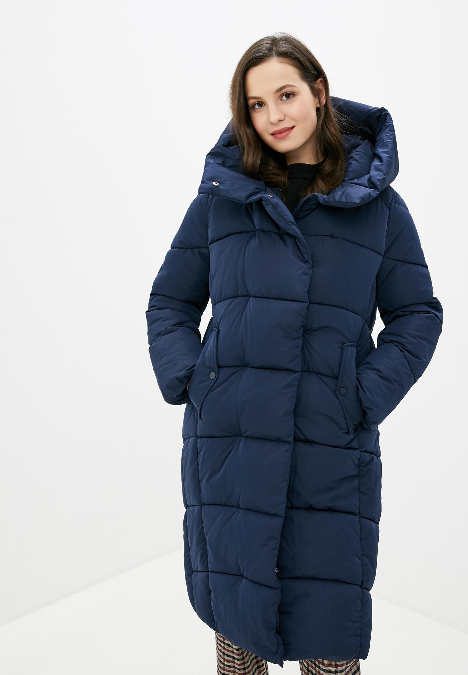 Куртка утепленная, Zarina, цвет: синий. Артикул: MP002XW1221B. Одежда / Верхняя одежда