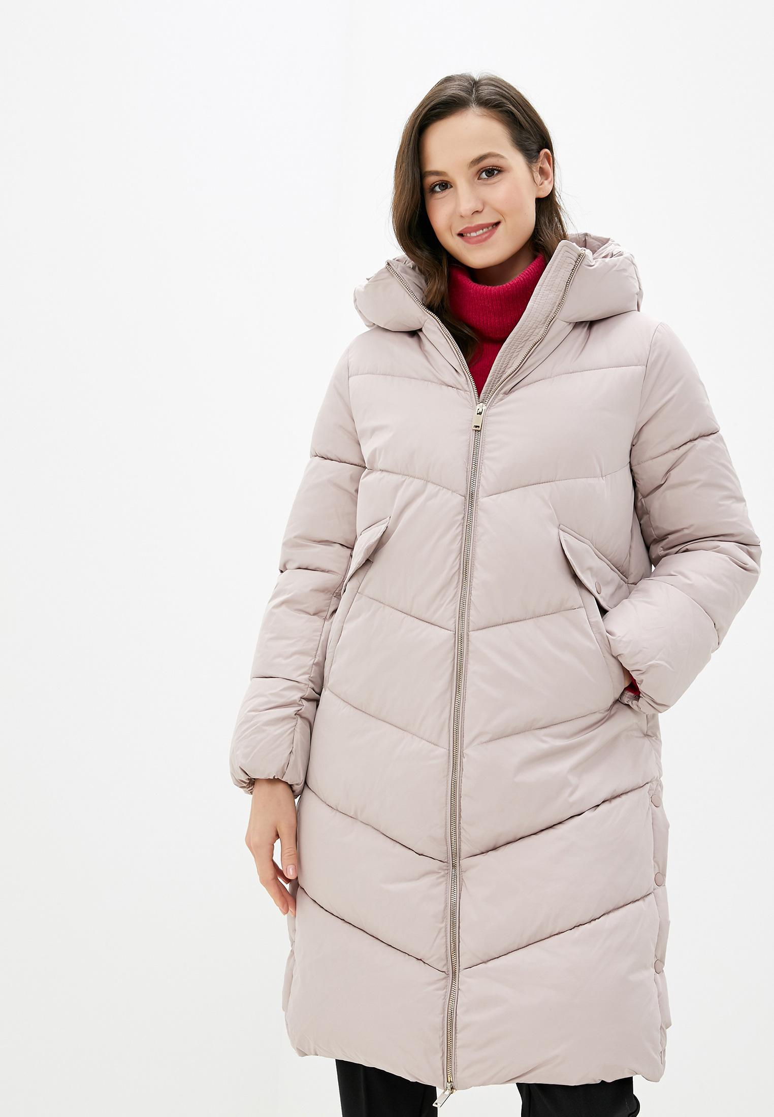 Куртка утепленная, Zarina, цвет: розовый. Артикул: MP002XW1221D. Одежда / Верхняя одежда