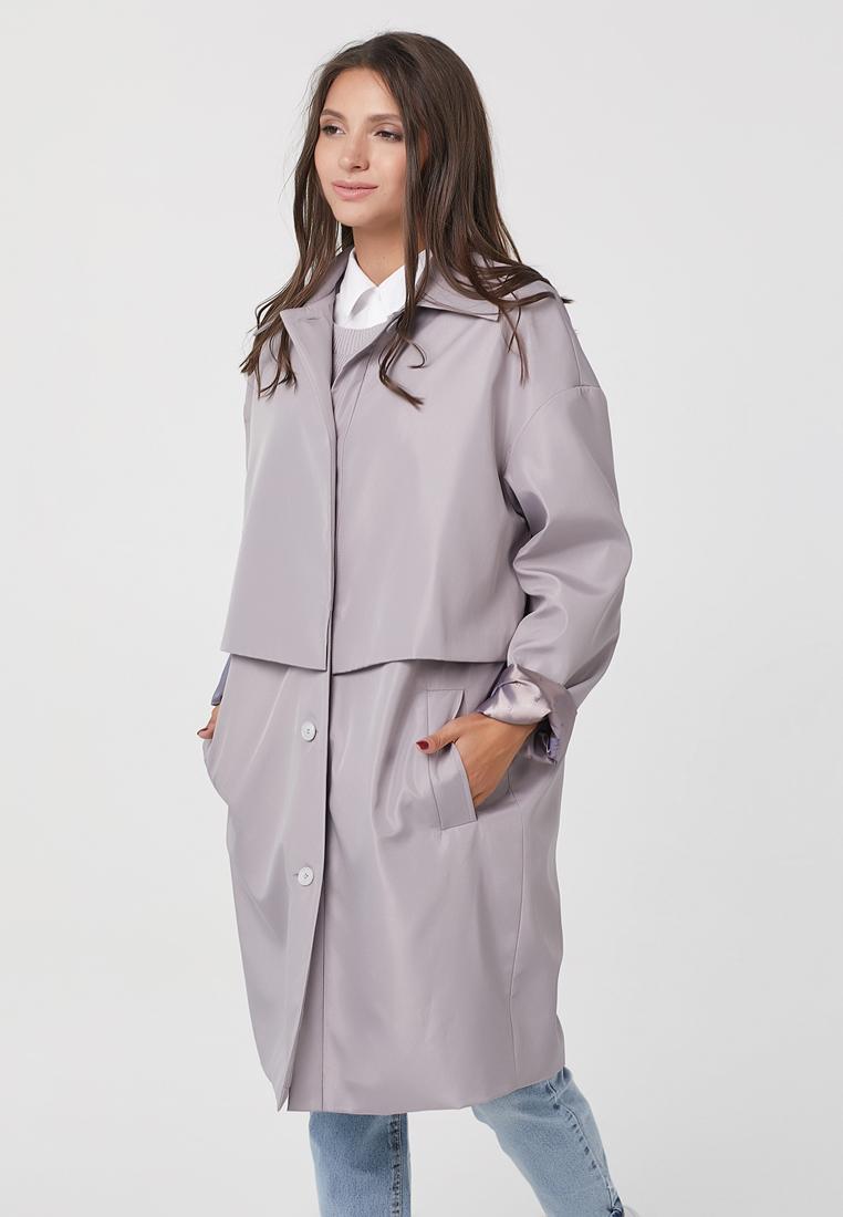 Плащ, Fly, цвет: фиолетовый. Артикул: MP002XW14T7I. Одежда