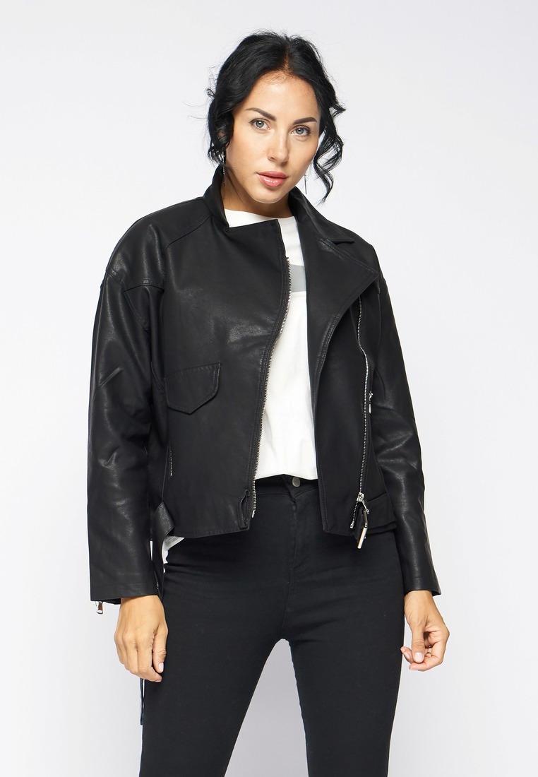Куртка кожаная, Bellart, цвет: черный. Артикул: MP002XW15125. Одежда / Верхняя одежда / Косухи