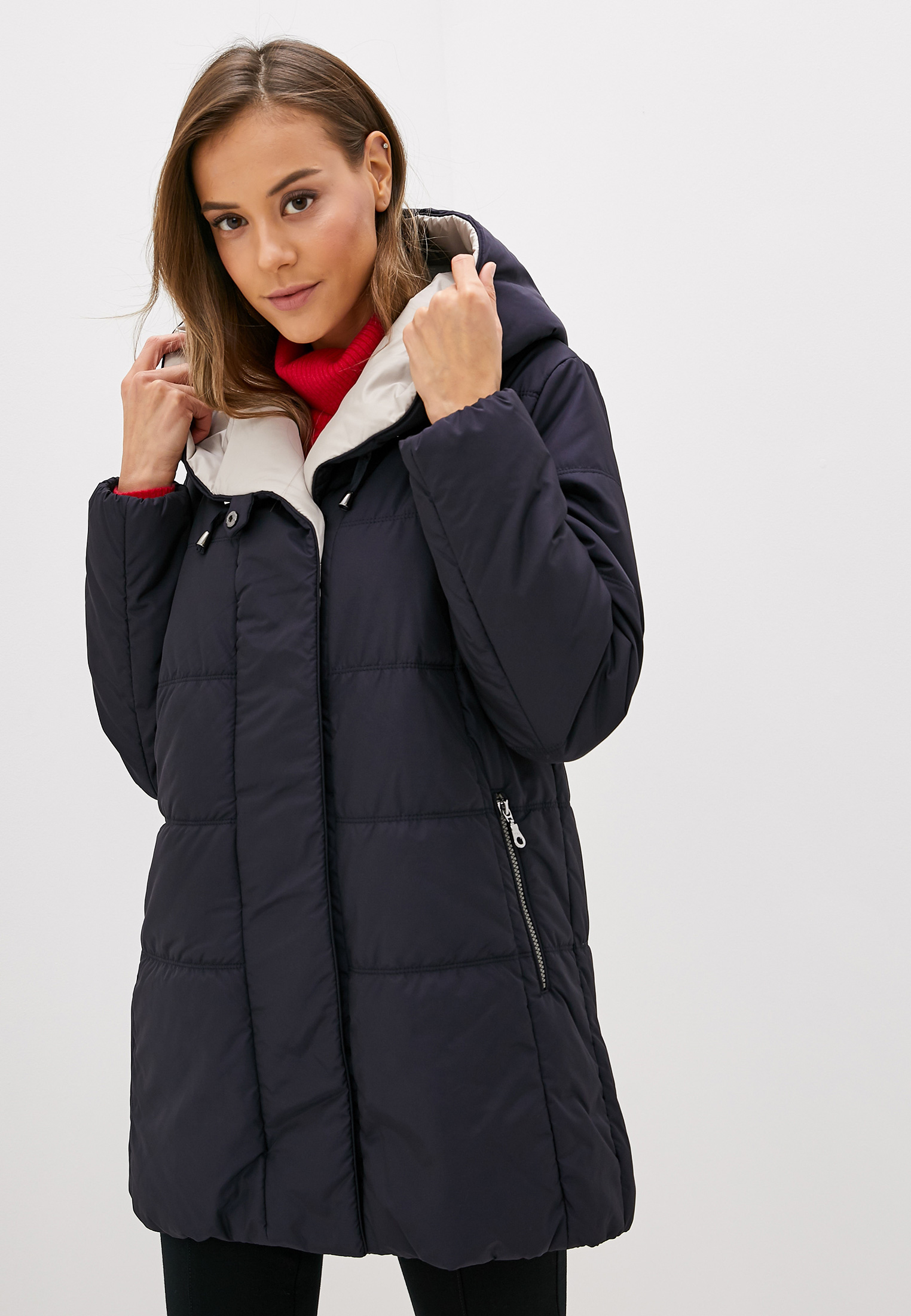 Куртка утепленная, Dixi-Coat, цвет: синий. Артикул: MP002XW152D1. Одежда / Верхняя одежда
