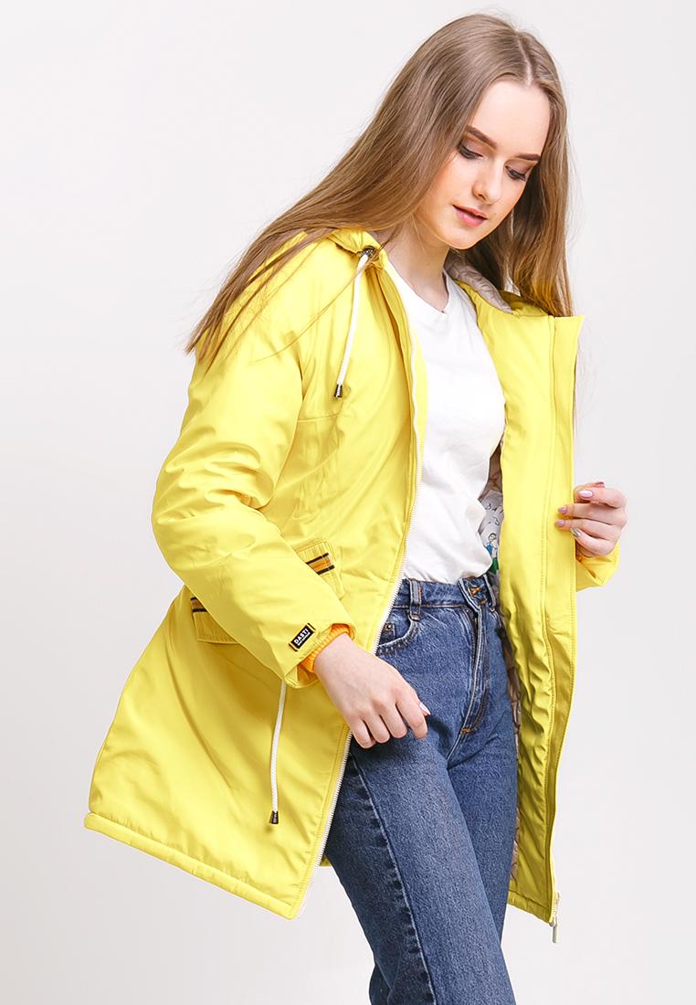 Парка, Dasti, цвет: желтый. Артикул: MP002XW18YW0. Одежда / Верхняя одежда / Парки