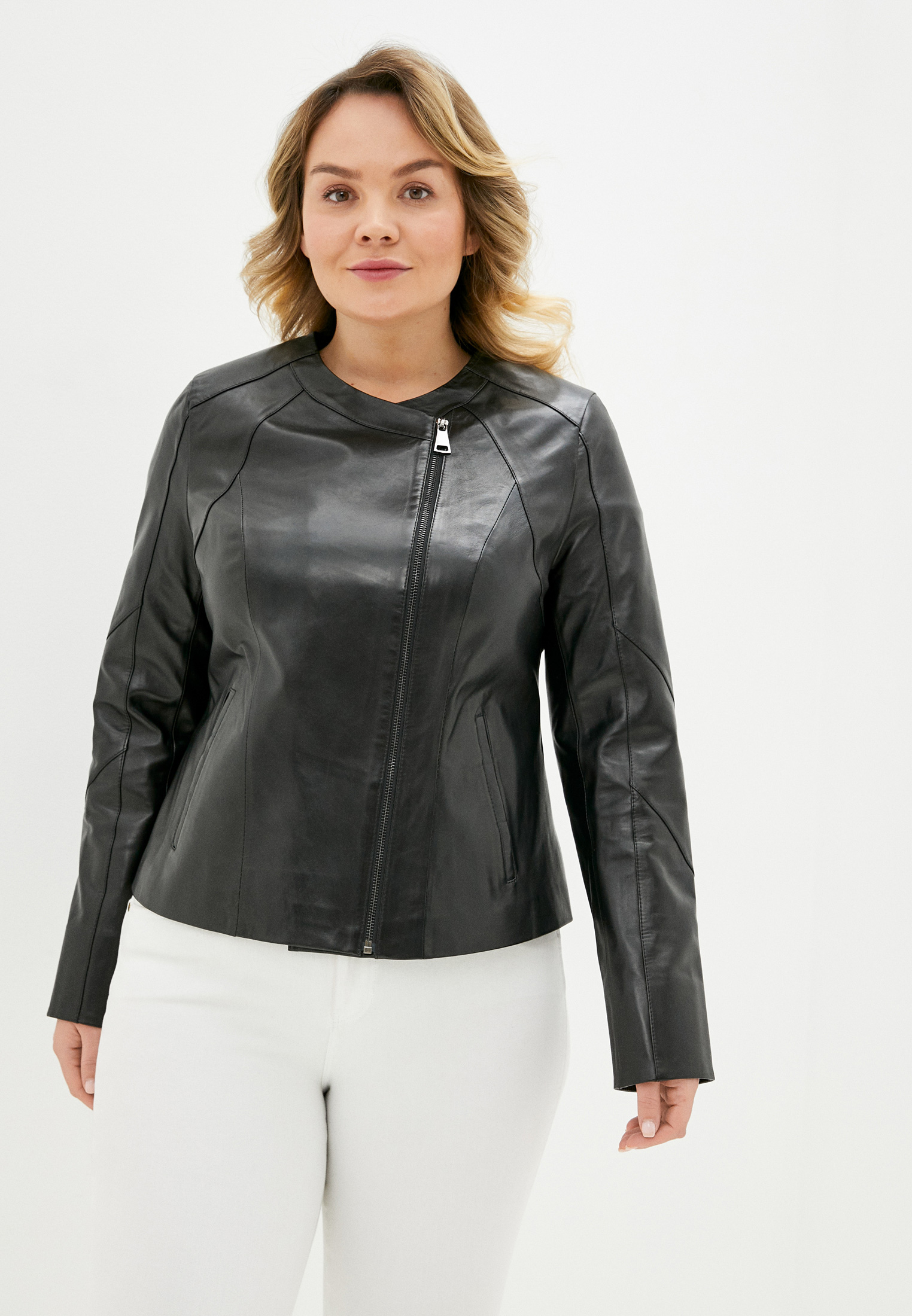 Le Monique Куртка кожаная