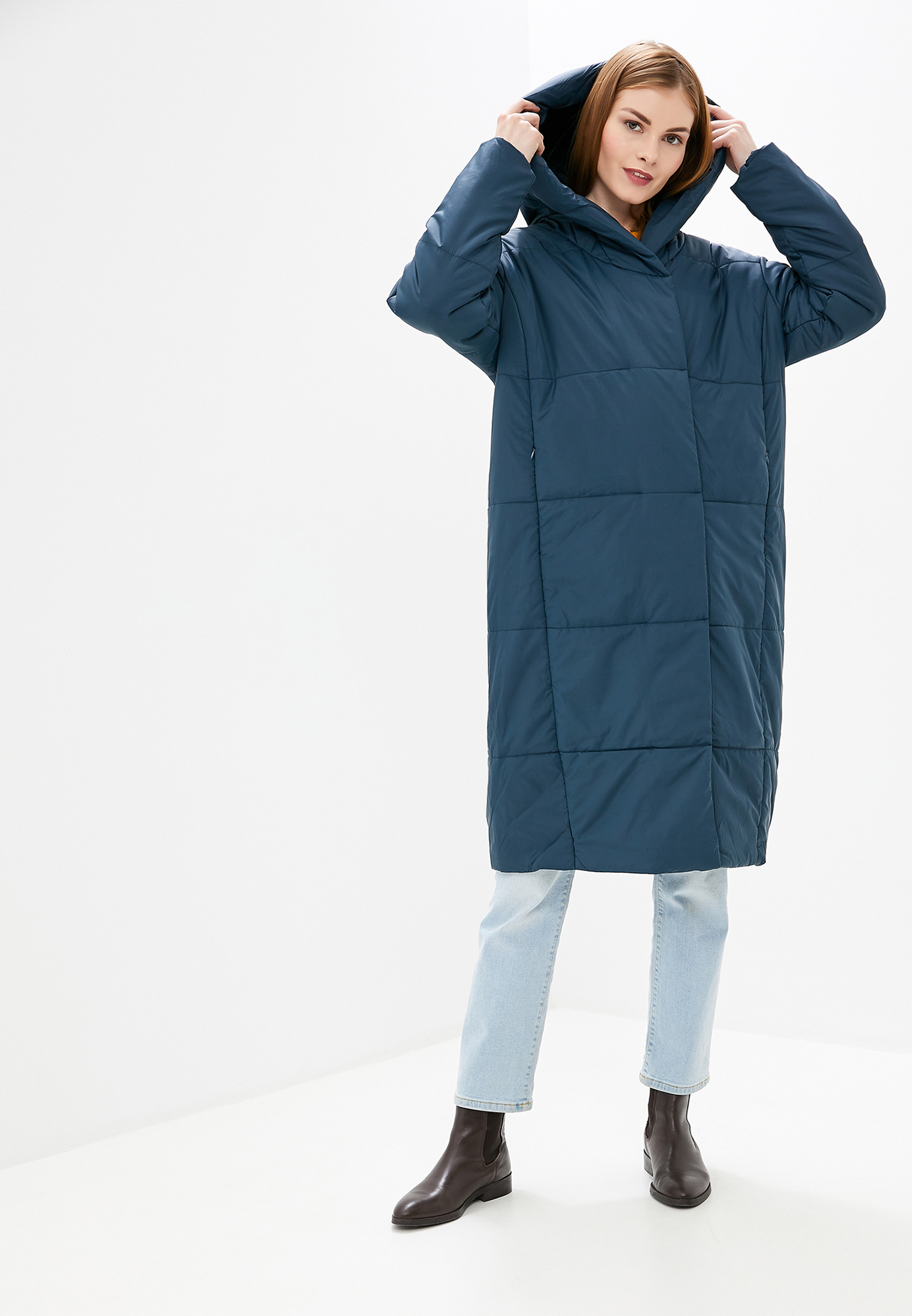 Куртка утепленная, Tom Farr, цвет: синий. Артикул: MP002XW1F221. Одежда / Верхняя одежда