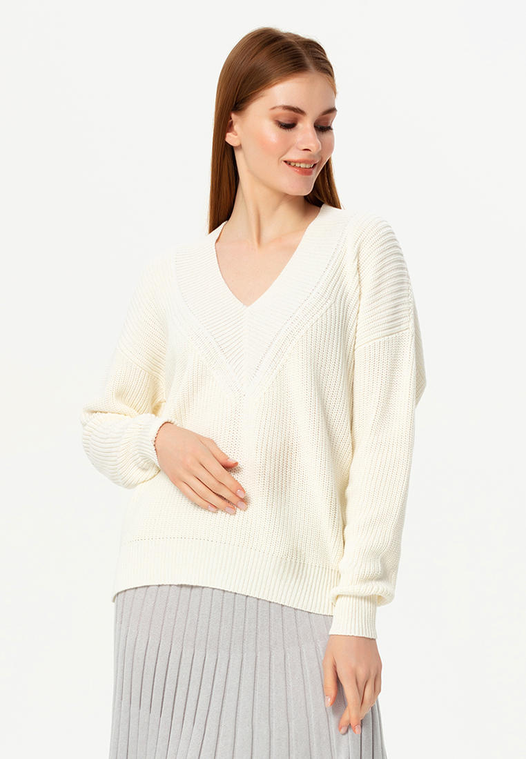 Пуловер Lezzarine  купить за 4 820 ₽ в интернет-магазине Lamoda.ru