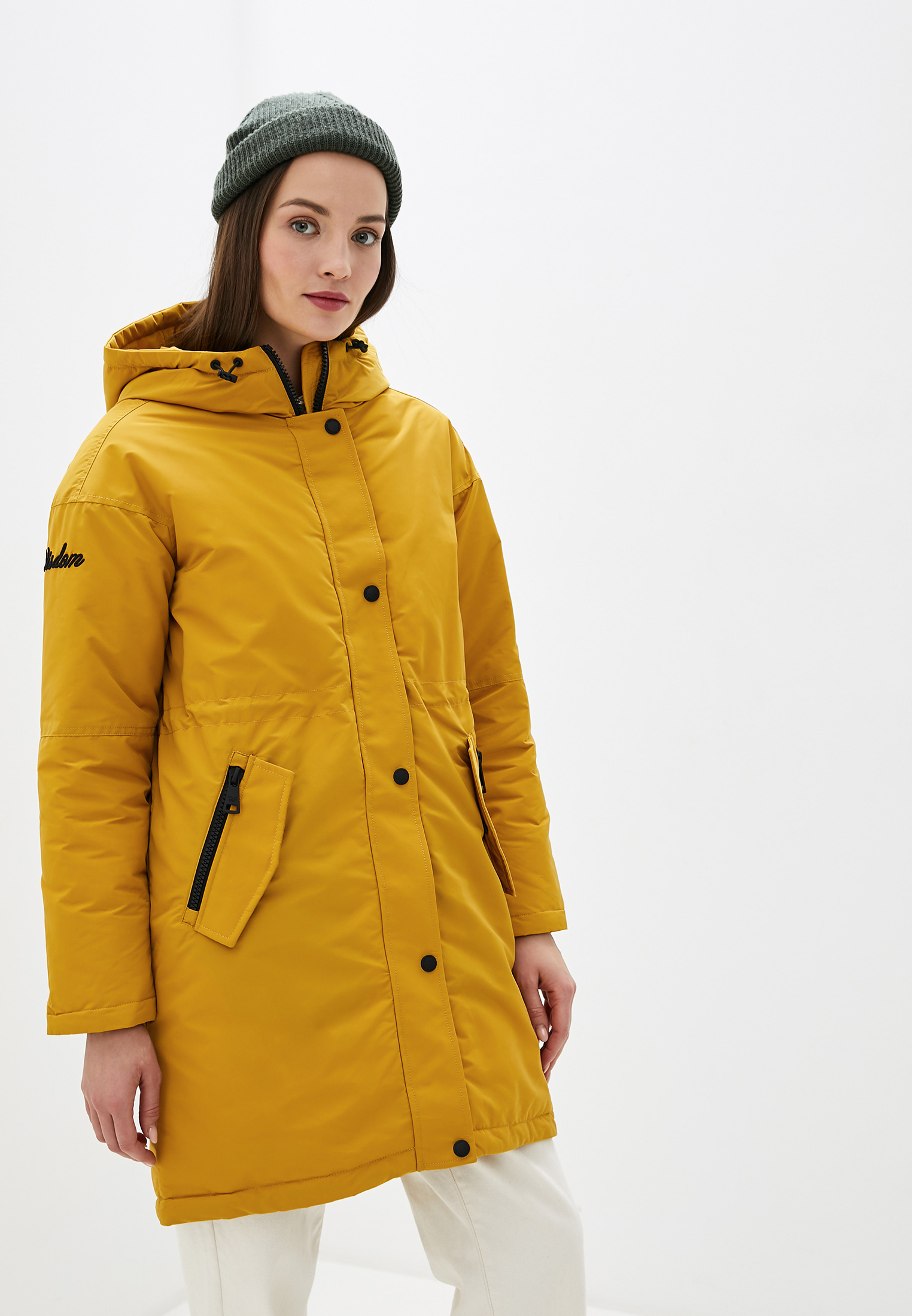 Парка, Tom Farr, цвет: желтый. Артикул: MP002XW1GEHX. Одежда / Верхняя одежда