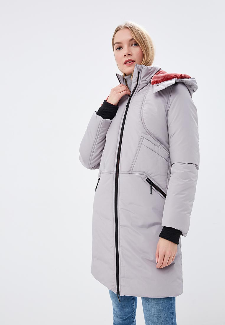 Куртка утепленная, Dimma, цвет: серый. Артикул: MP002XW1ICNI. Одежда / Верхняя одежда