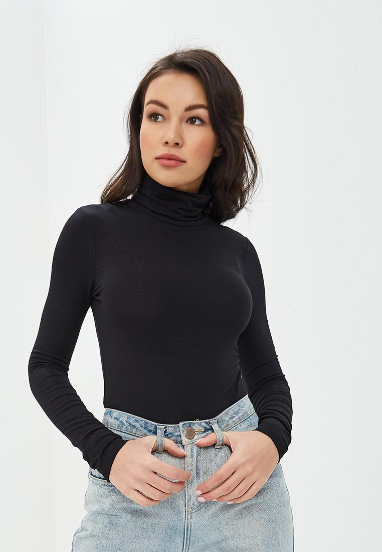 Водолазка, Tezenis, цвет: черный. Артикул: MP002XW1ILW3. Одежда / Джемперы, свитеры и кардиганы