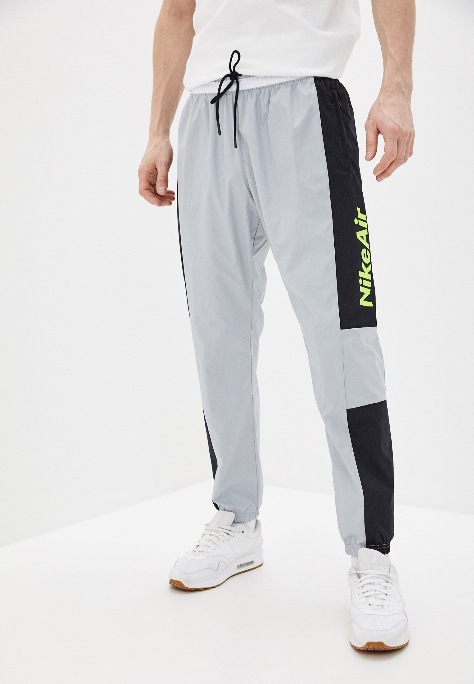 Брюки спортивные Nike M NSW NIKE AIR PANT WVN купить за 4 790 ₽ в интернет-магазине Lamoda.ru