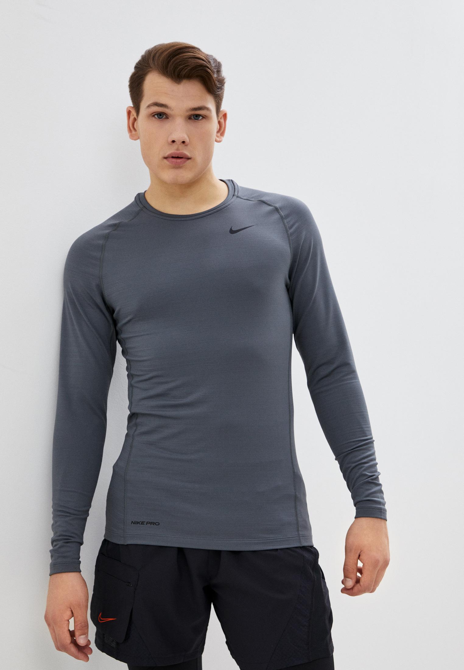 Лонгслив компрессионный Nike M NP TOP WARM LS CREW за 3 699 ₽. в интернет-магазине Lamoda.ru