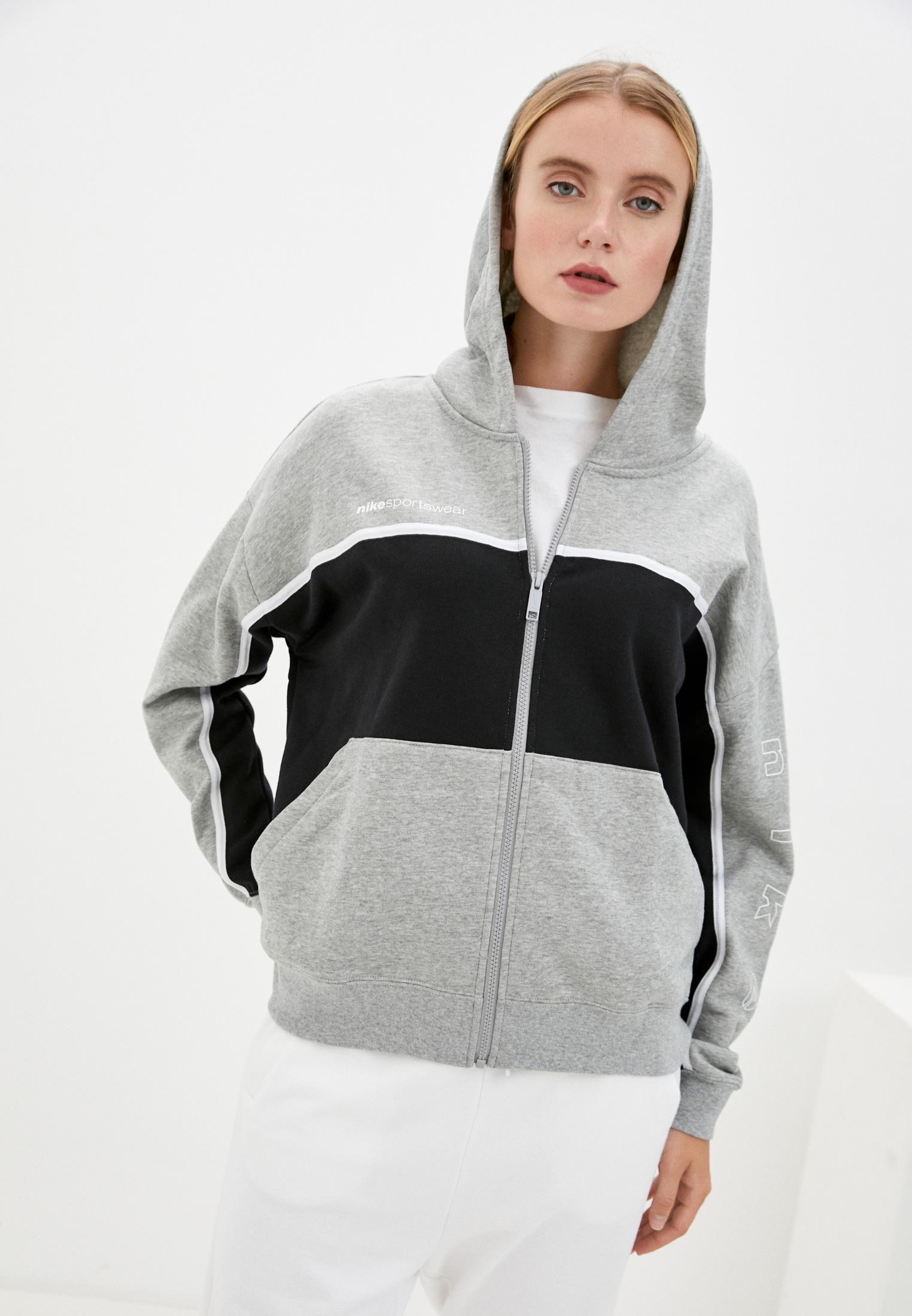 Толстовка Nike W NSW FZ FT ARCHIVE RMX за 4 096 ₽. в интернет-магазине Lamoda.ru