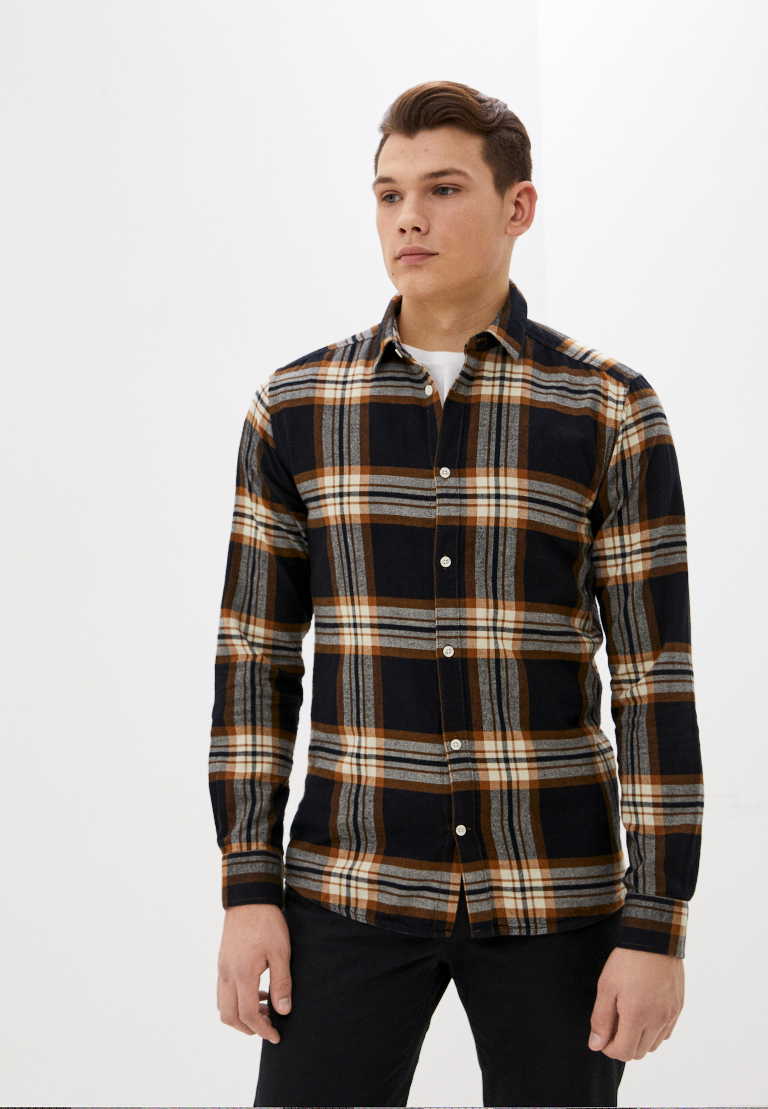 Рубашка Only & Sons за 2 390 ₽. в интернет-магазине Lamoda.ru