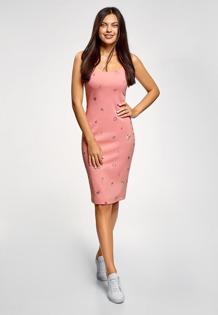 Платье oodji  купить за 999 ₽ в интернет-магазине Lamoda.ru