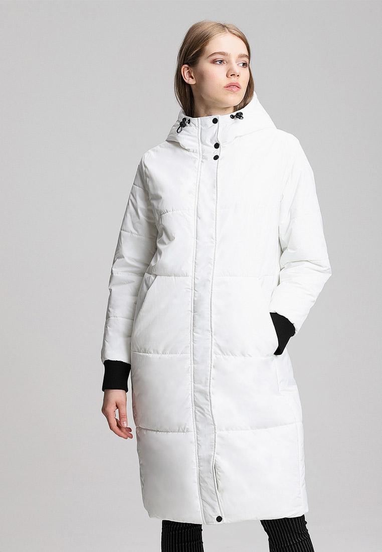 Парка, O'stin, цвет: белый. Артикул: OS004EWGLHT4. Одежда / Верхняя одежда / Парки